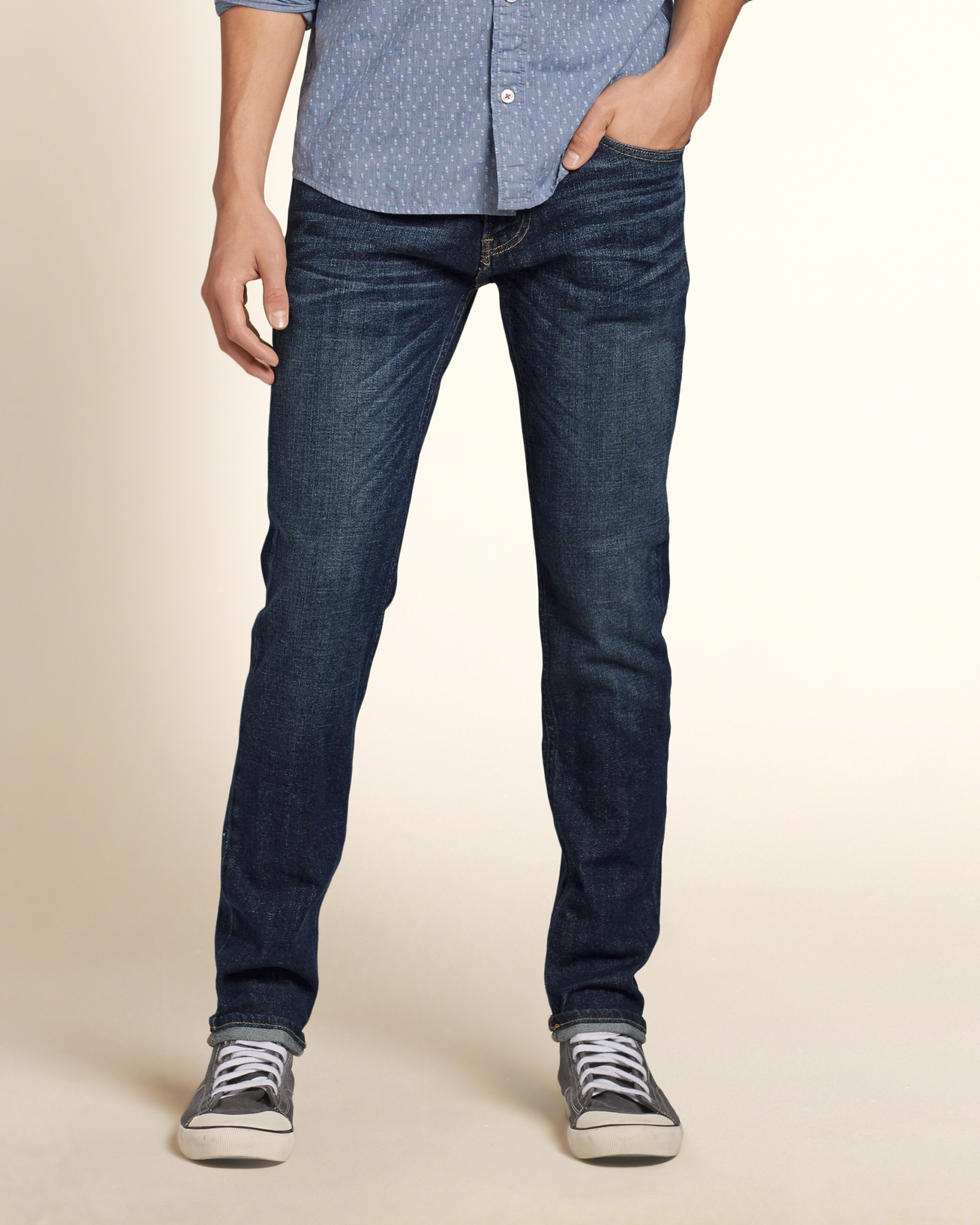 hollister dark jeans for men - photo #31