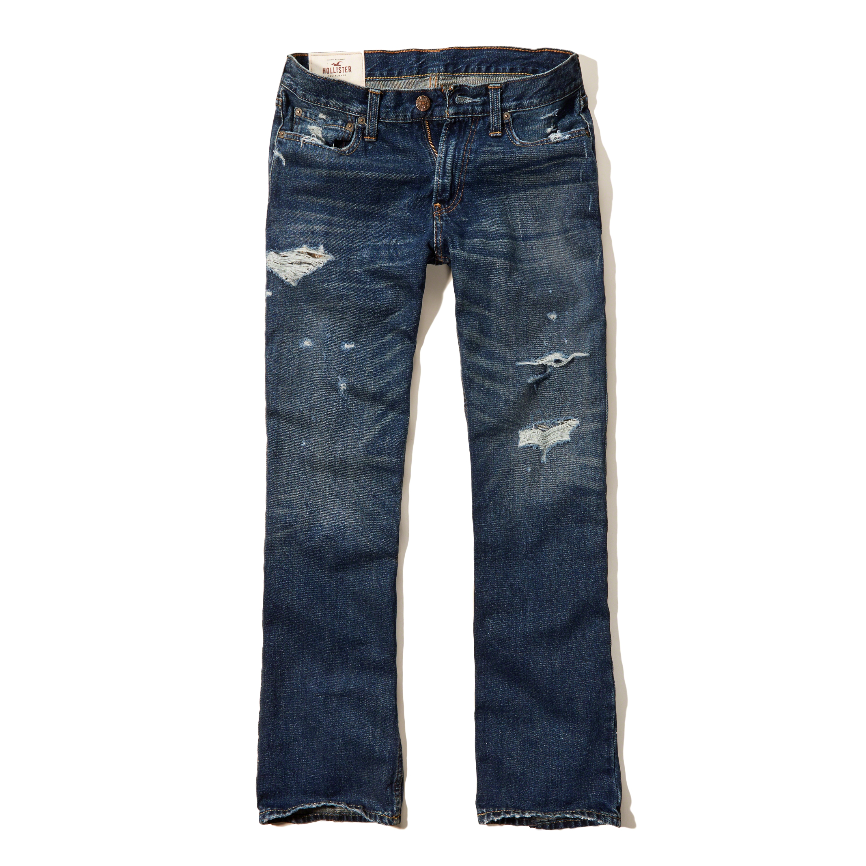 Lyst - Hollister Boot Jeans in Blue for Men