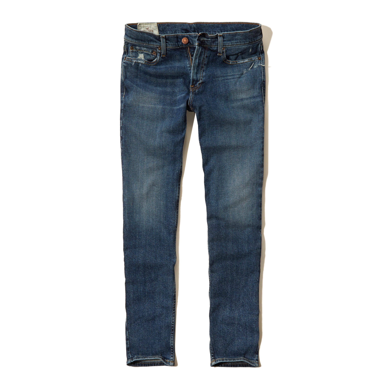 Hollister Skinny Jeans in Blue for Men | Lyst