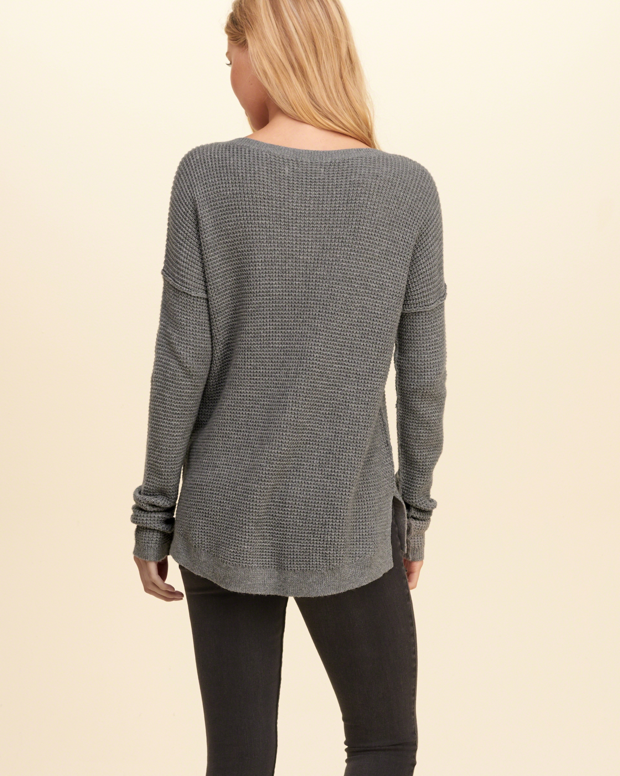 Hollister Iconi... Hollister Sweaters For Girls Grey