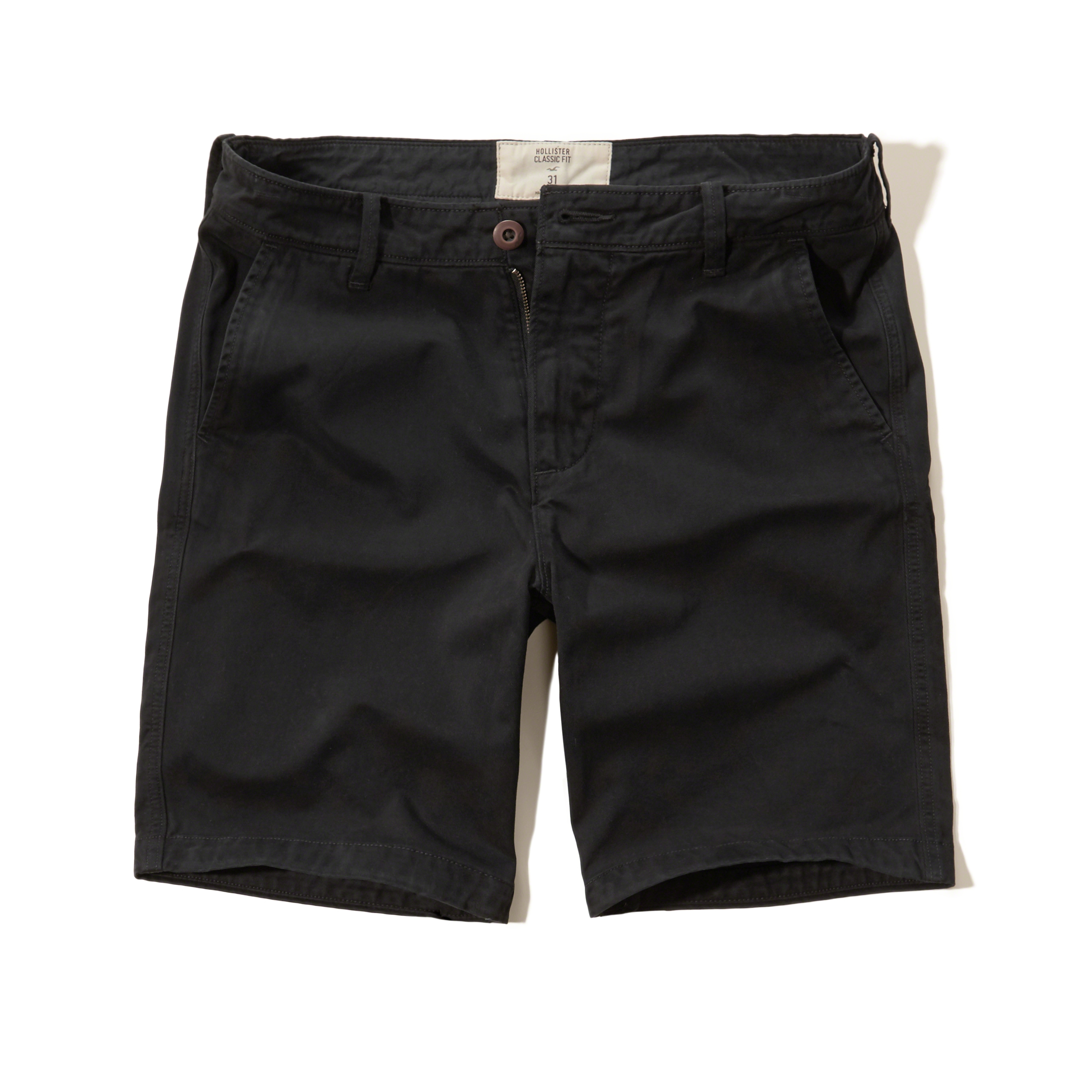 Hollister Classic Fit Shorts in Black for Men   Lyst