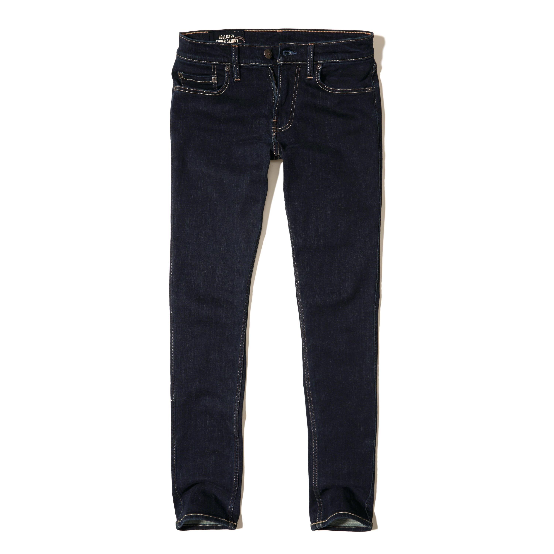 Hollister Super Skinny Jeans for Men   Lyst