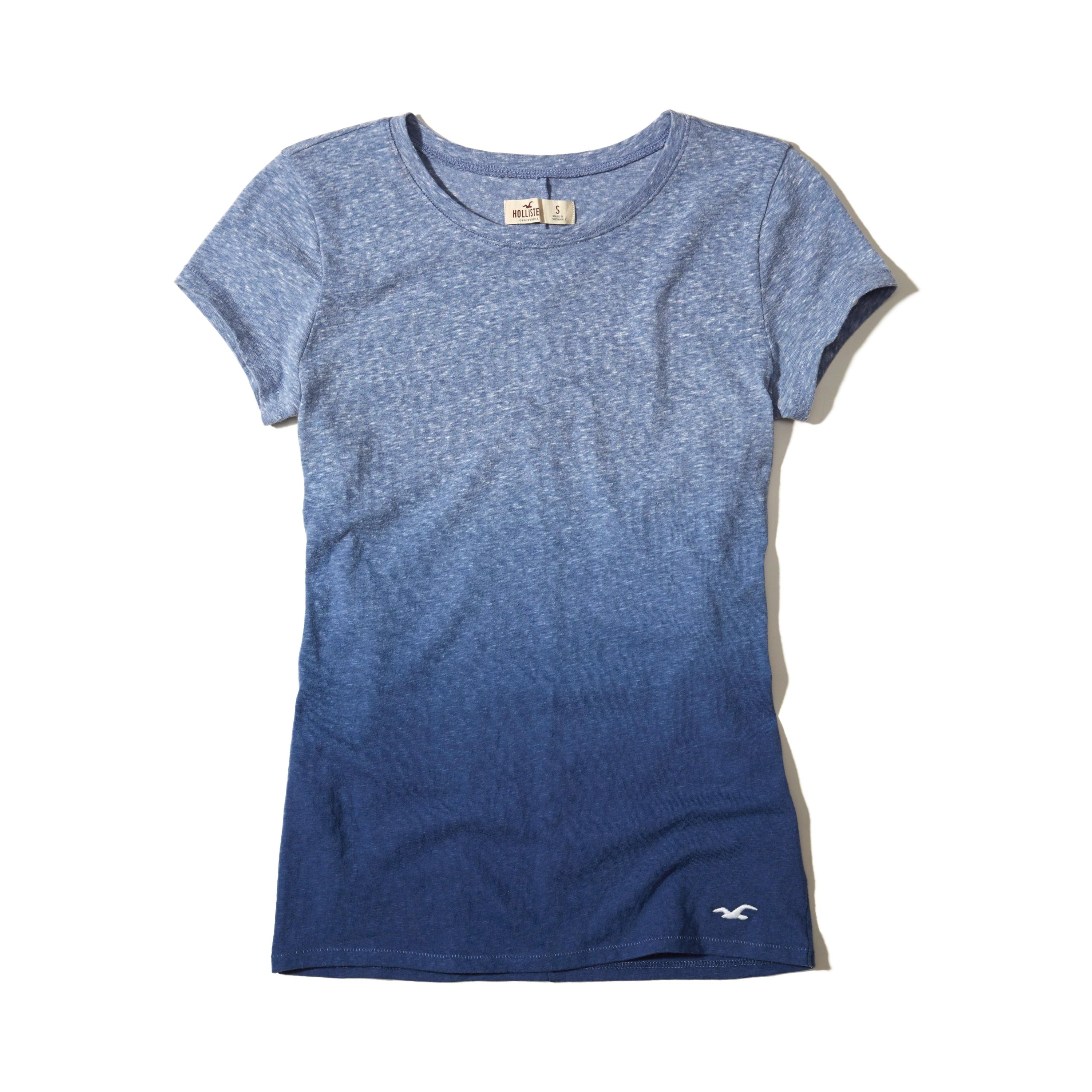 Lyst hollister must have crew t shirt in blue for Must have dress shirts