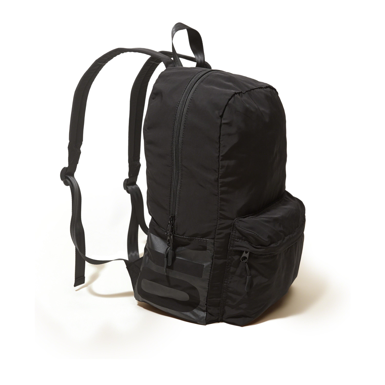 Lyst Hollister Logo Front Pocket Backpack In Black For Men