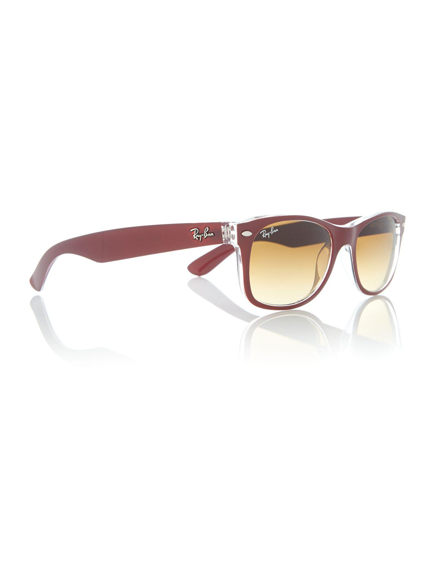 2f540934c6 Red Frame Rb2132 Ray Ban New Wayfarer Sunglasses Q09 « One More Soul