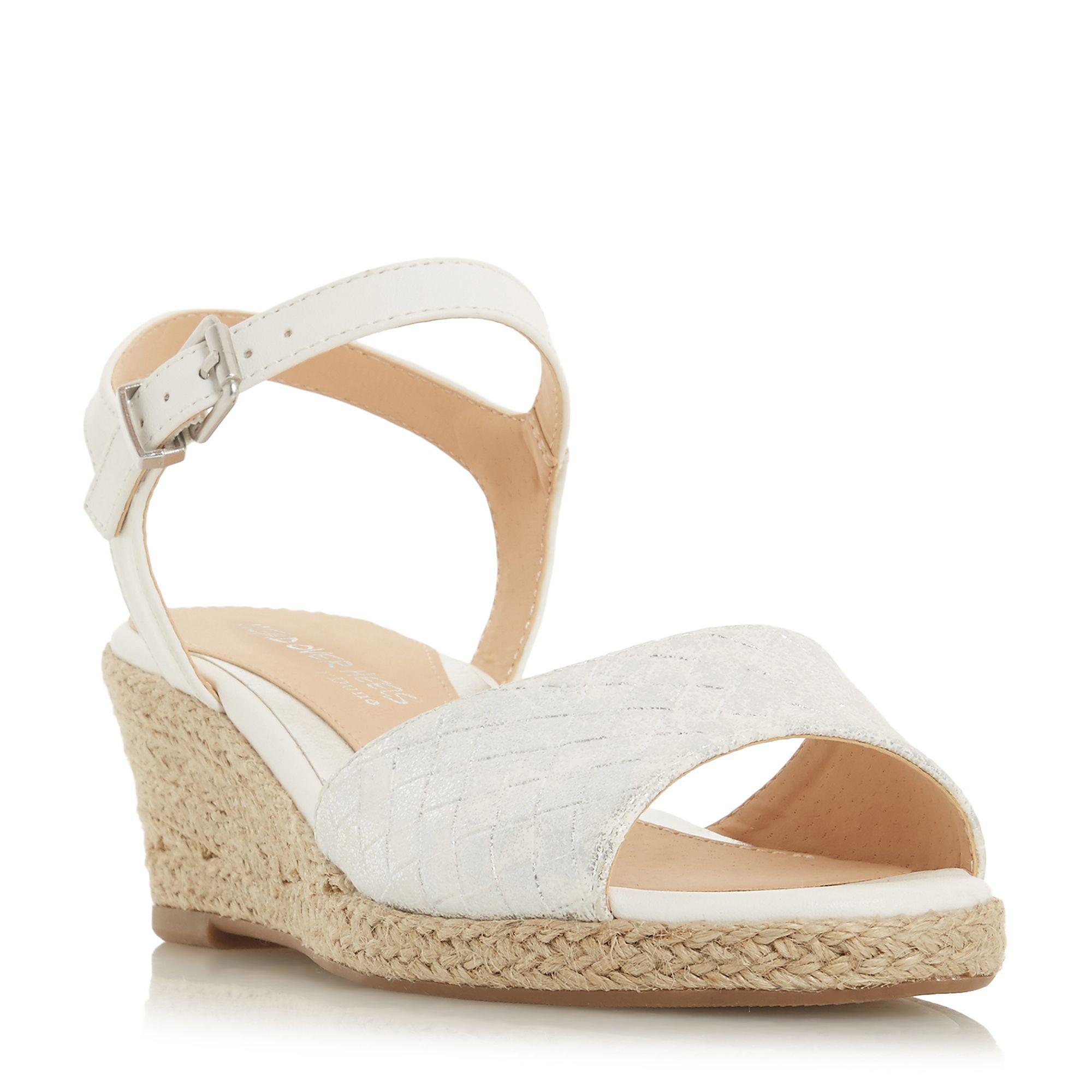 Navy leather 'Kestrel' mid wedge heel espadrilles release dates for sale reliable cheap online mKhCVupi