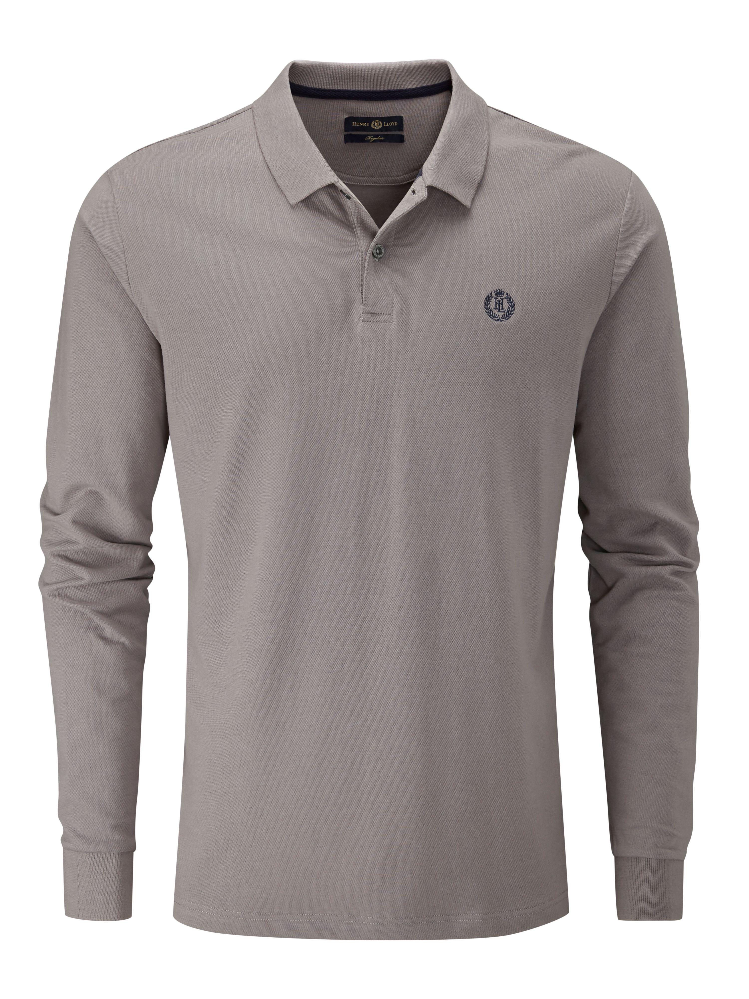 2daad50a7 Lyst - Henri Lloyd Musburry Regular Long Sleeve Polo in Gray for Men