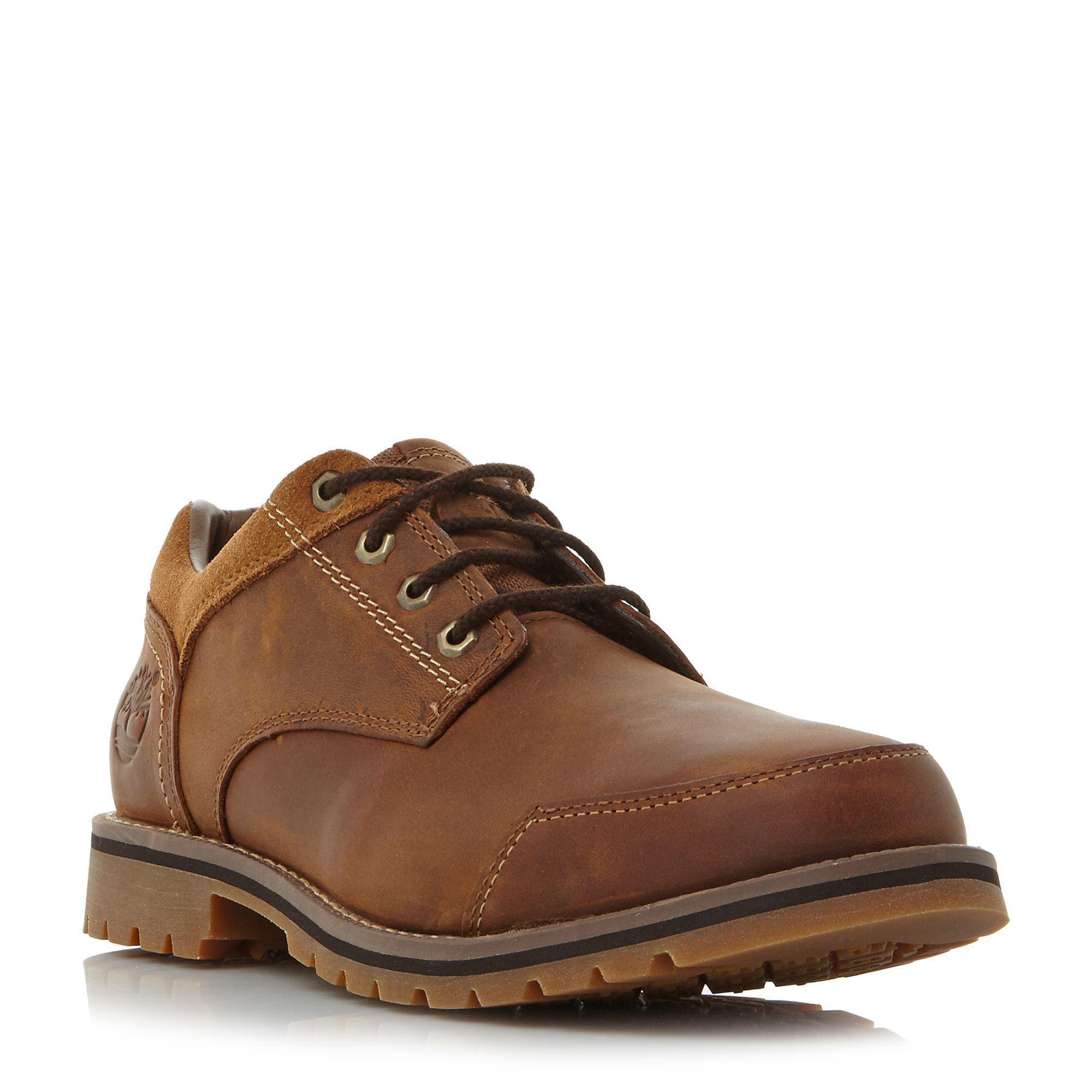 UK Shoes Store - Timberland Ek Stormbuck Plain Toe Oxford Shoes laces man