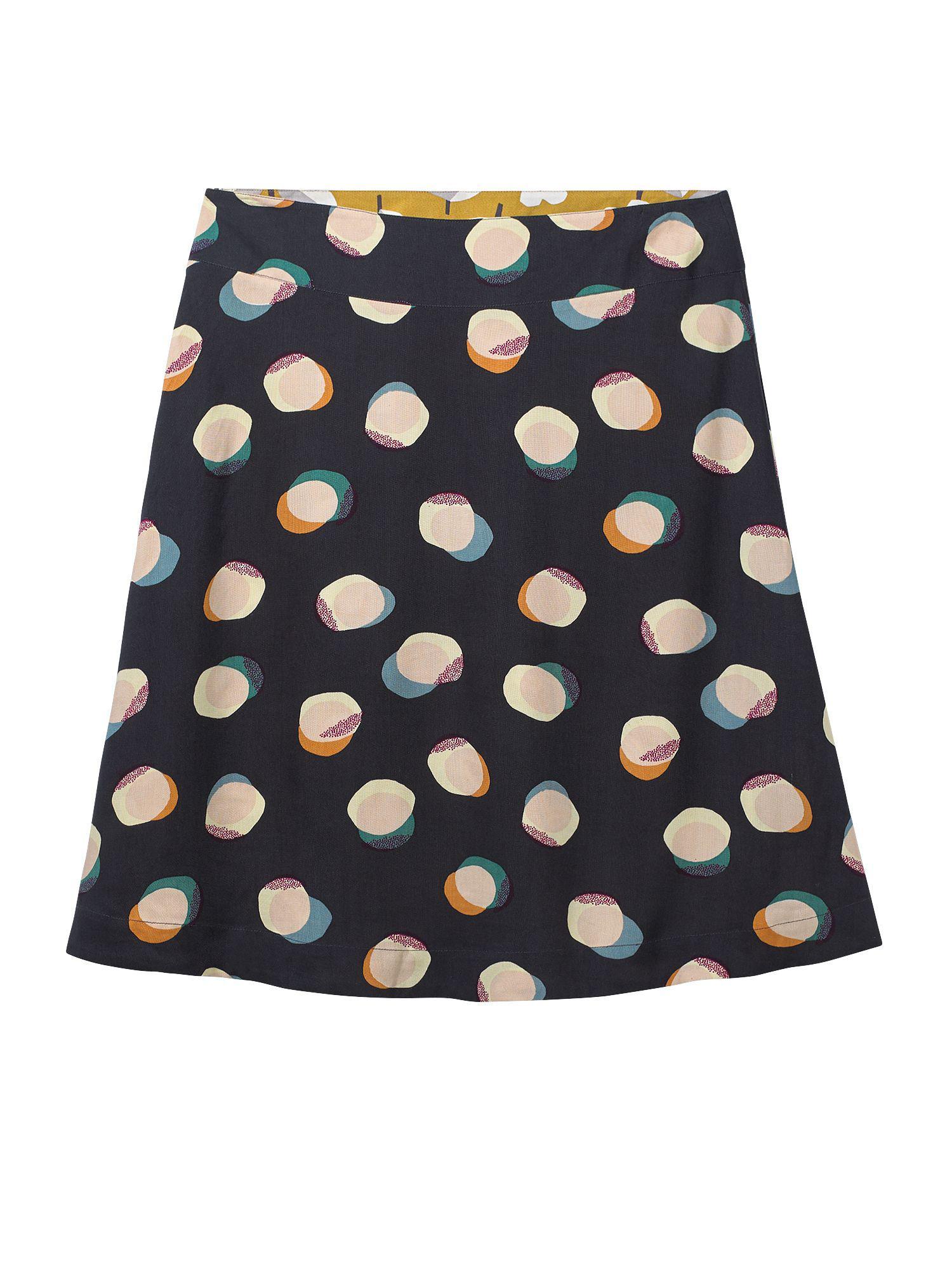 2cdfecf11e White Stuff Origami Reversible Skirt in Blue - Lyst