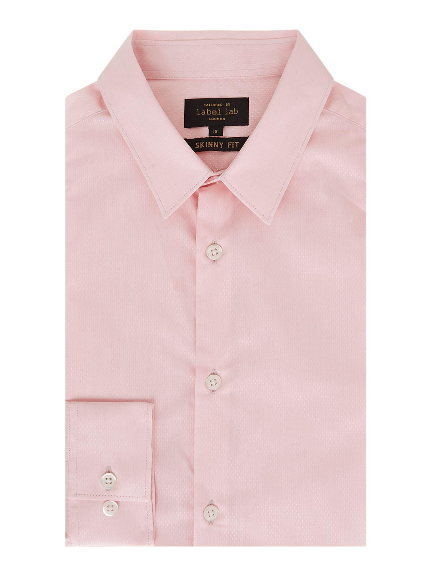 5a4daf466 Label Lab Men's Detropolitan Spot Texture Shirt in Pink for Men - Lyst