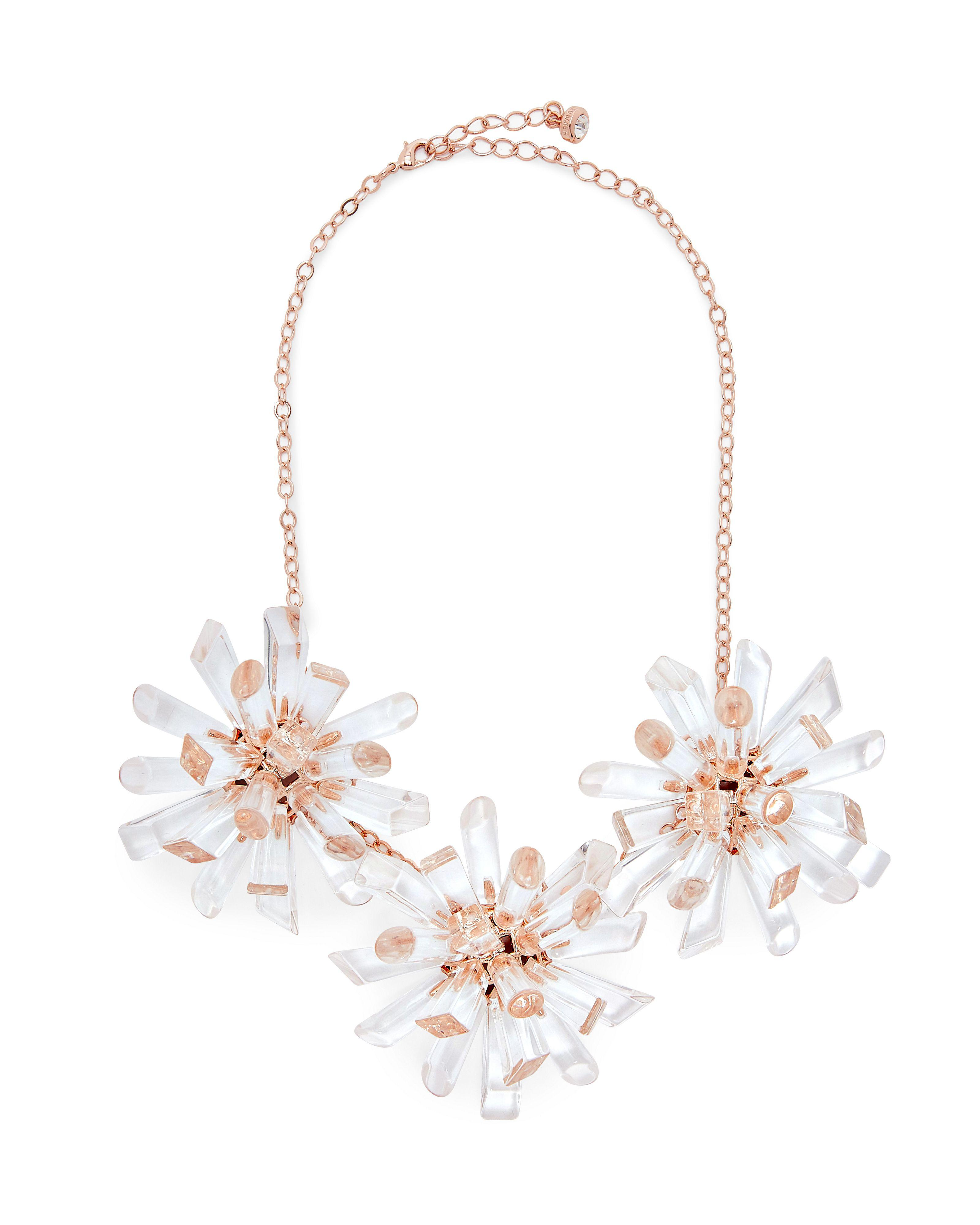 Ted Baker Triple Geo Burst Necklace tIqXsoooS