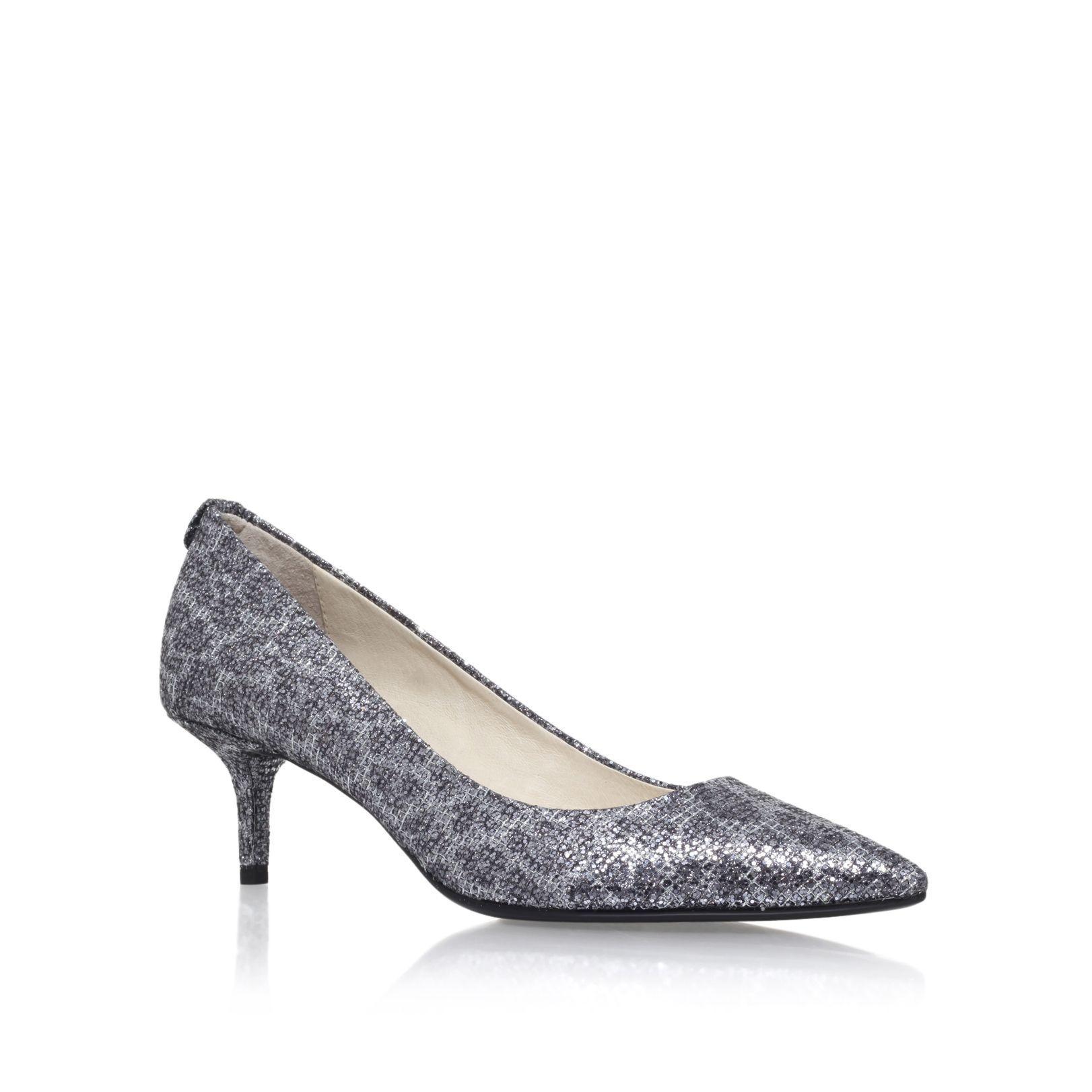 M S Kitten Heel Shoes