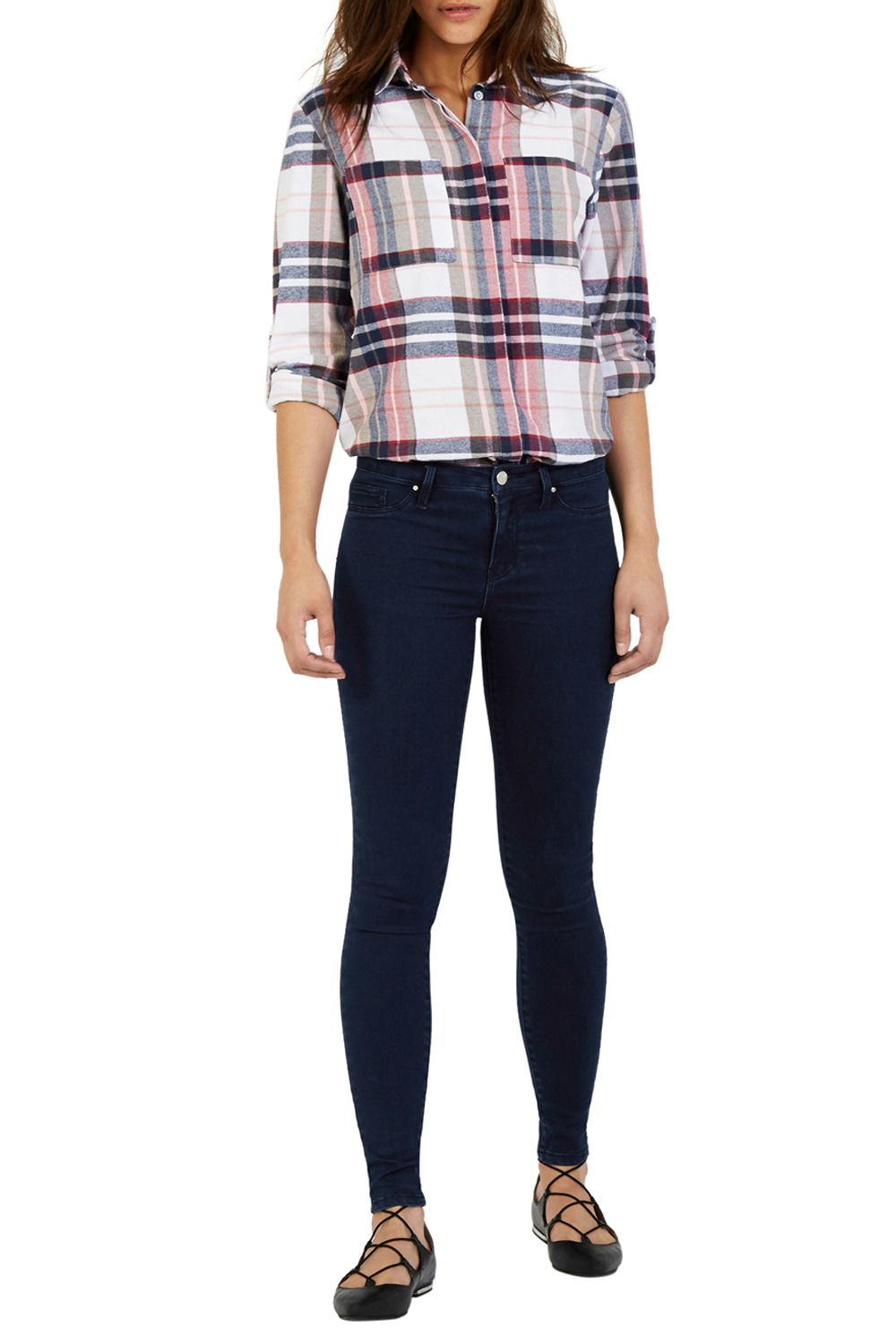 Warehouse Second Skin Jean in Blue | Lyst