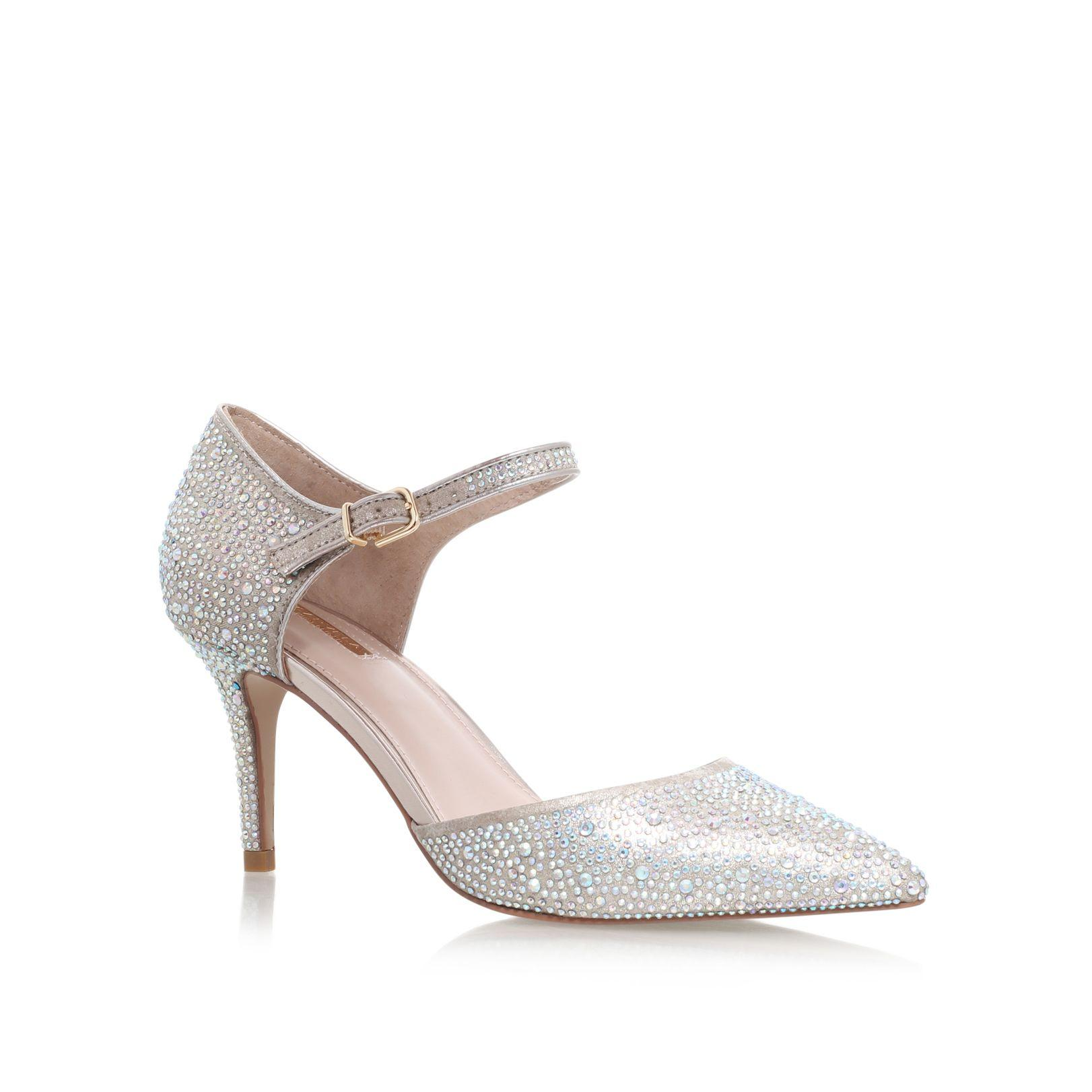 Silver Shoes High Heels House Of Fraser