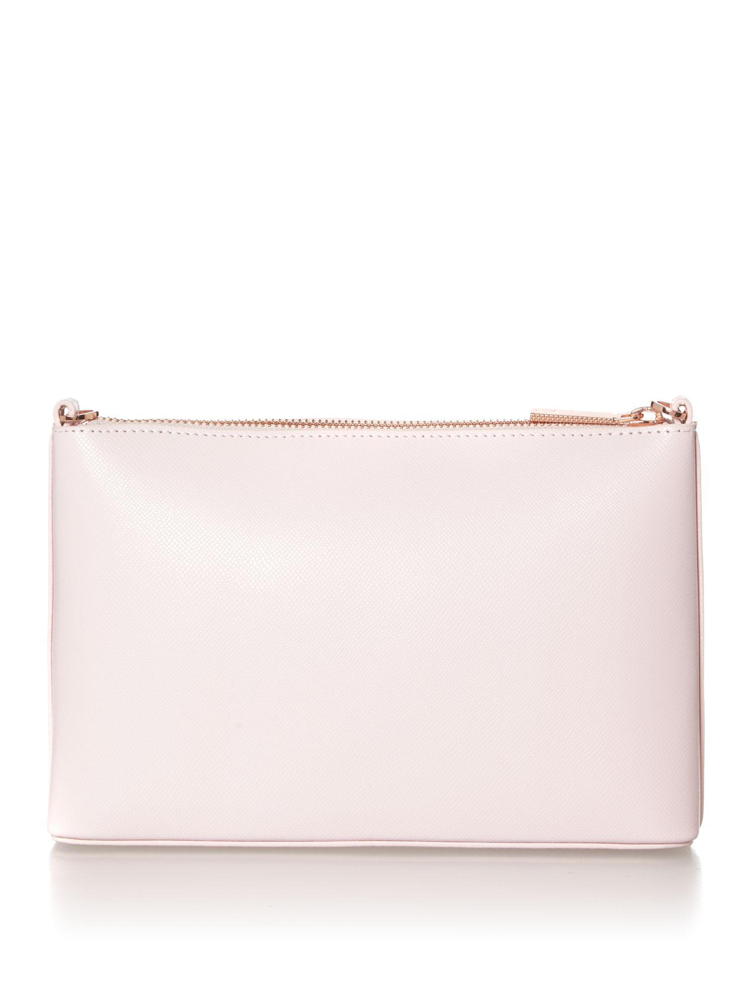 Lyst - Ted Baker Jazzi Floral Crossbody Bag In Pink