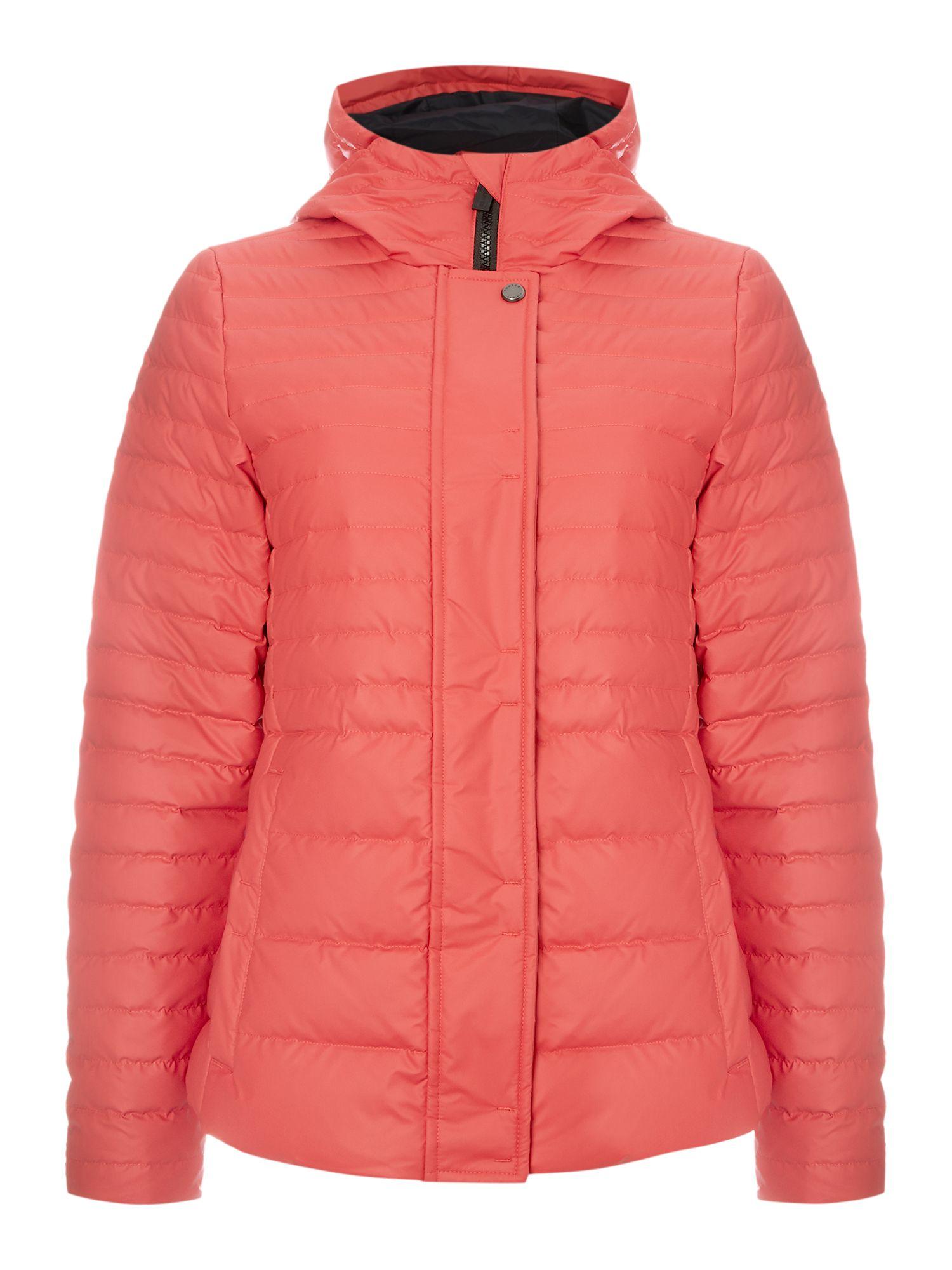 Hunter Original Refined Puffer Jacket in Orange | Lyst