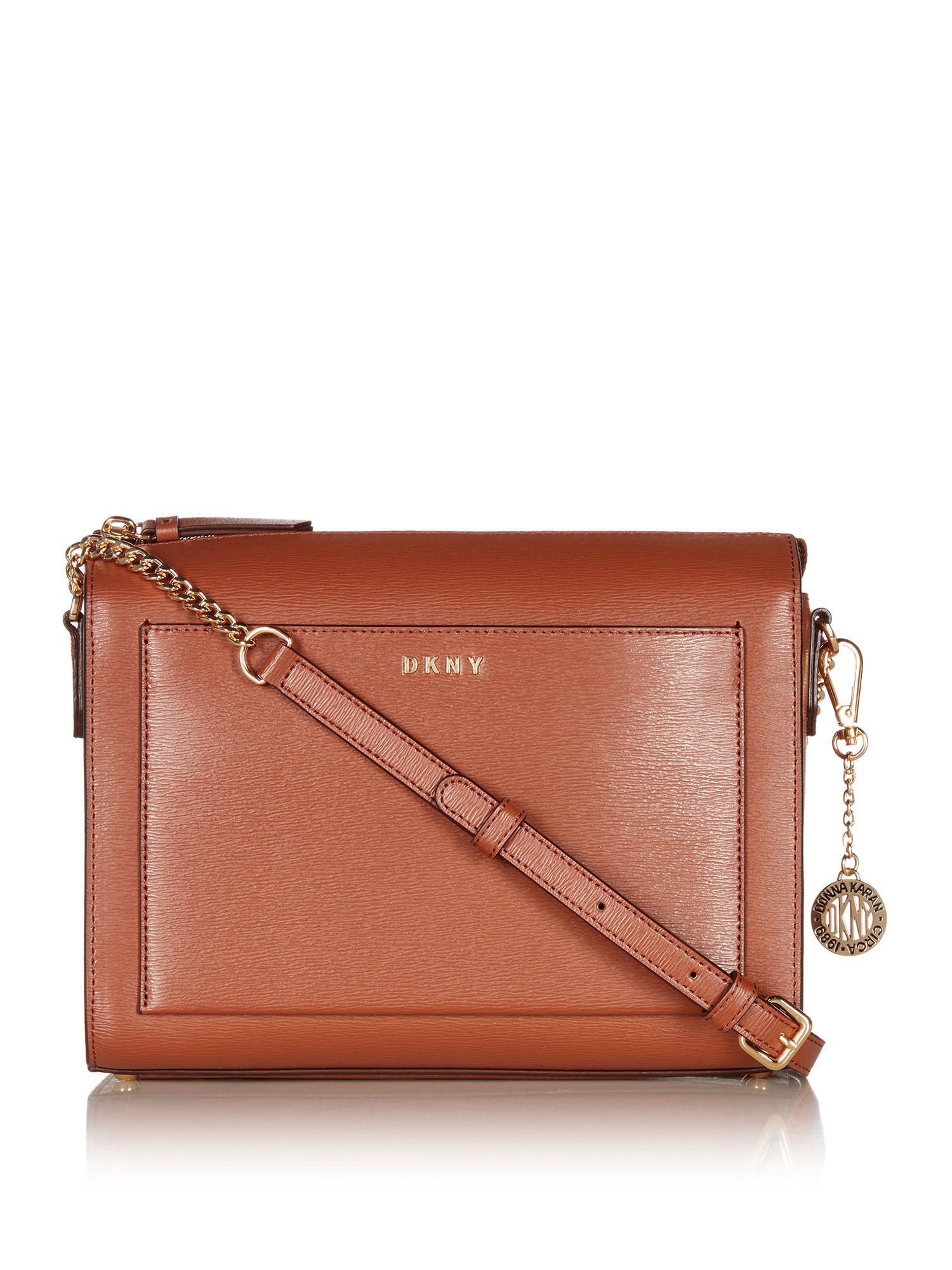 Cross Body Bags - Chain Sutton Bryant SM Demi Crossbody Bag Coral - rose - Cross Body Bags for ladies DKNY ynglA0