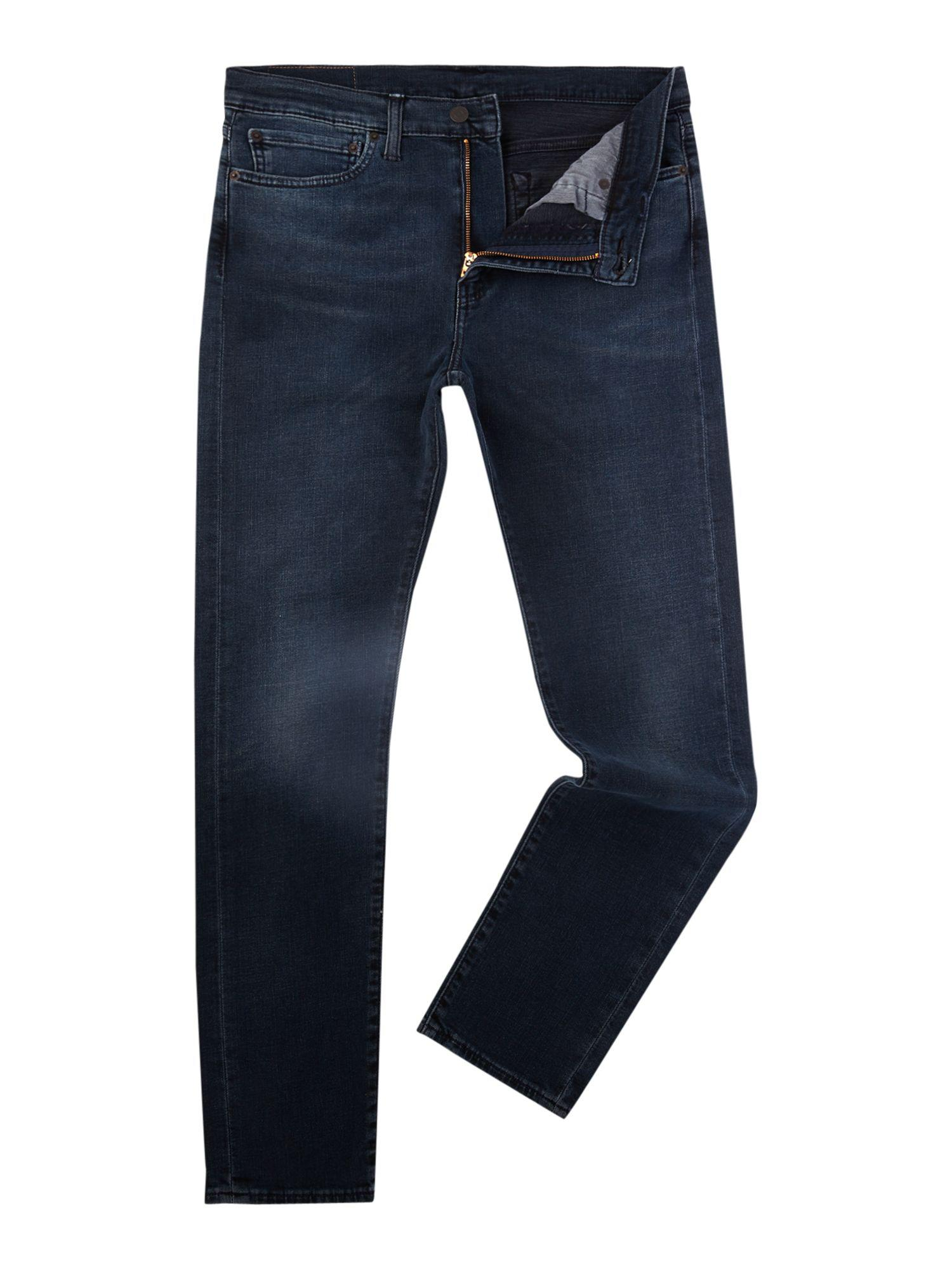 levi 39 s men 39 s 510 skinny fit eyser stretch jeans in blue for men lyst. Black Bedroom Furniture Sets. Home Design Ideas