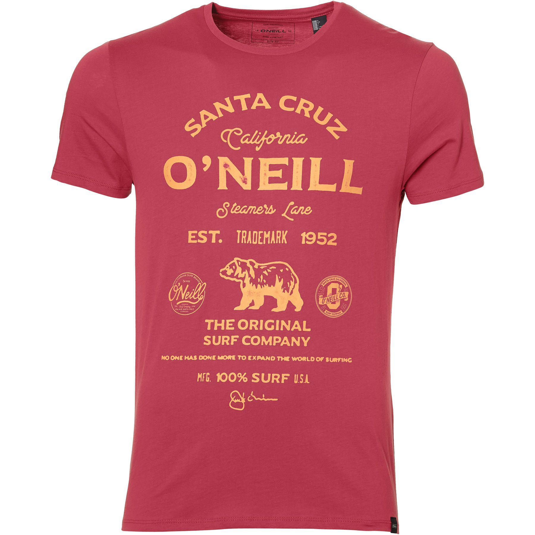 O'neill Sportswear. Pink Men's Muir T-shirt