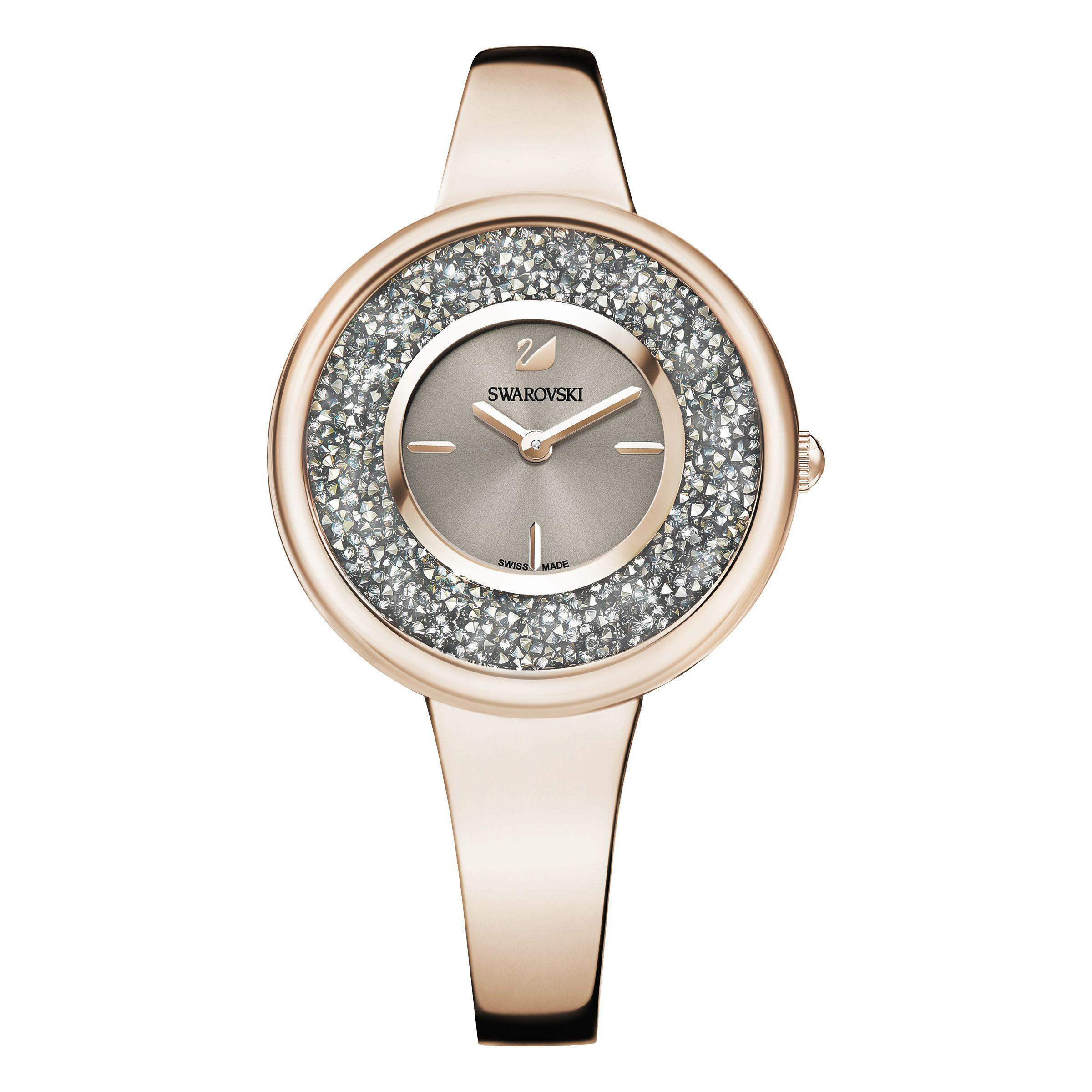 a8ed55161a74 Swarovski Crystalline Pure Watch in Metallic - Lyst