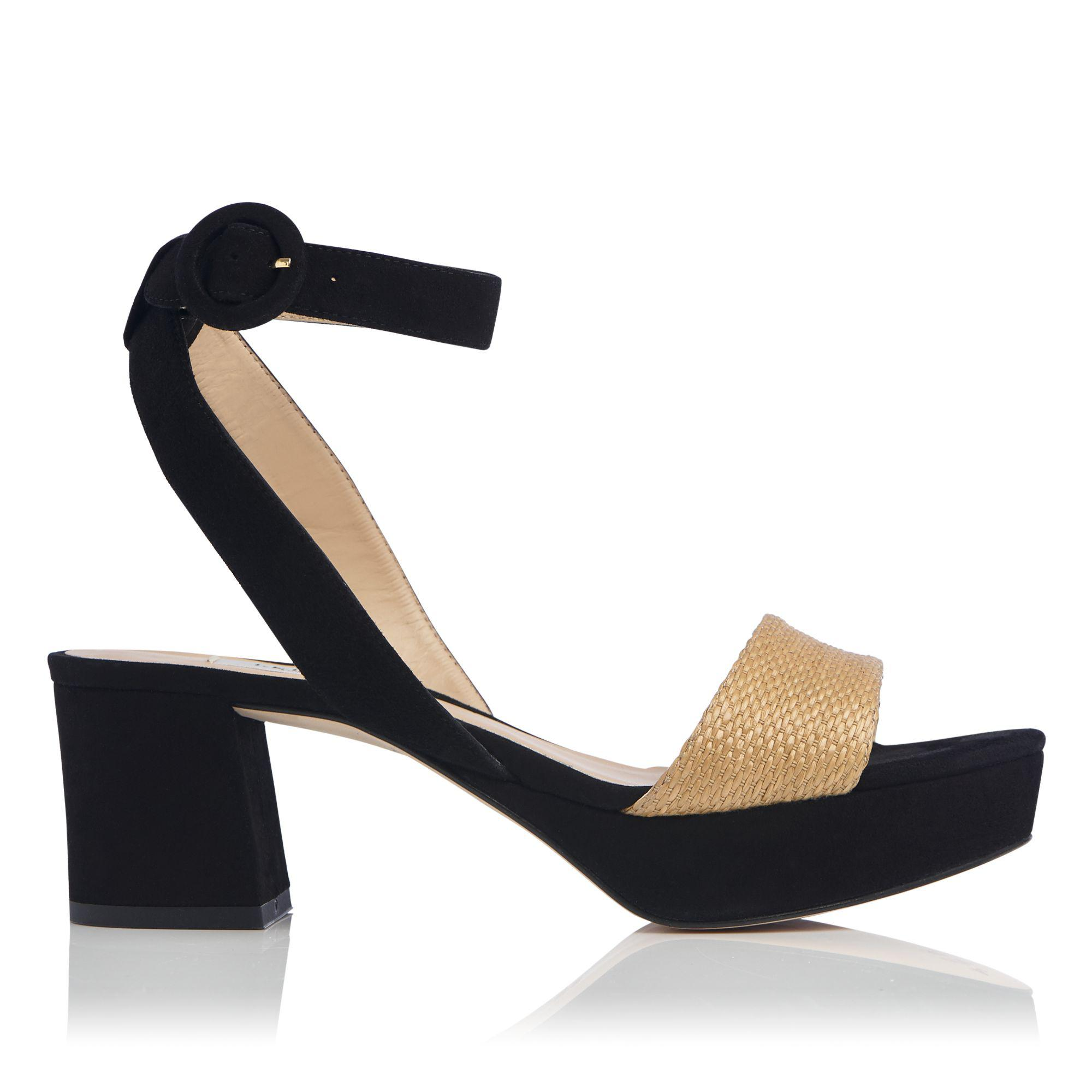 61b370fd4c9a L.K.Bennett Alie Formal Sandals in Black - Lyst