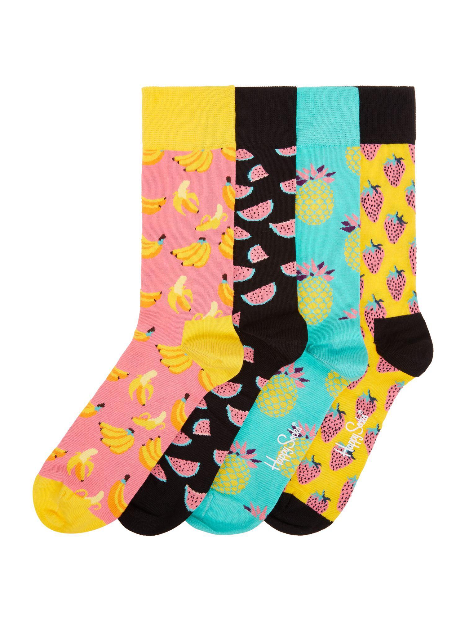 Happy Socks® 4-Pack Fruit Socks Gift Box Cheap Affordable Ebay Sale Online 4p2P3F
