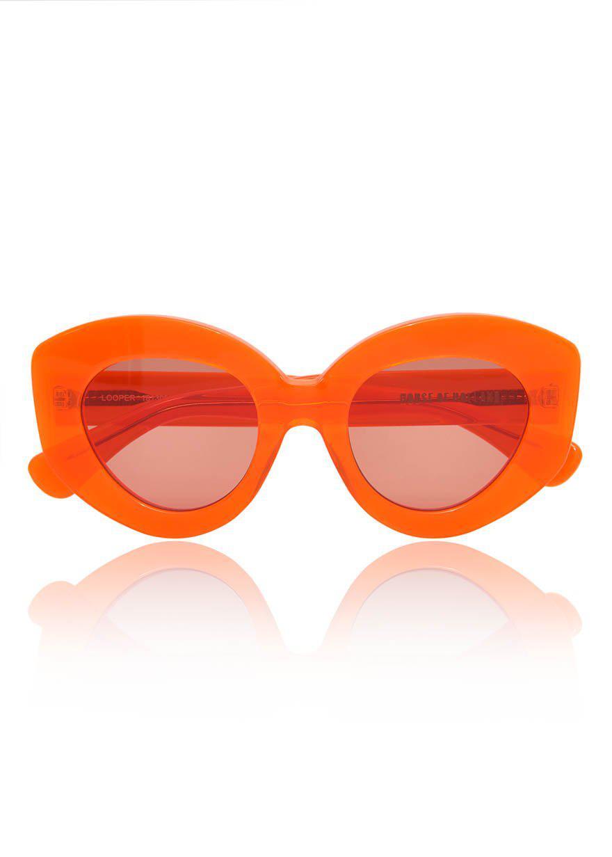 Looper sunglasses - Yellow & Orange House Of Holland ORLEKfEtQP