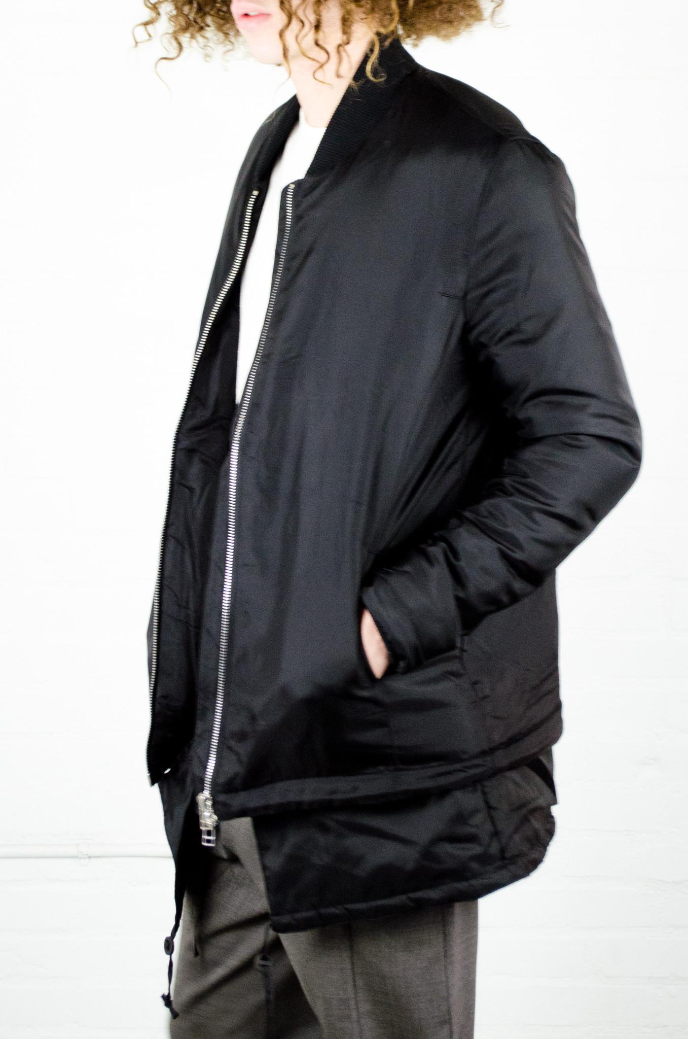 Lyst - Chapter Rol Bomber Jacket In Black For Men