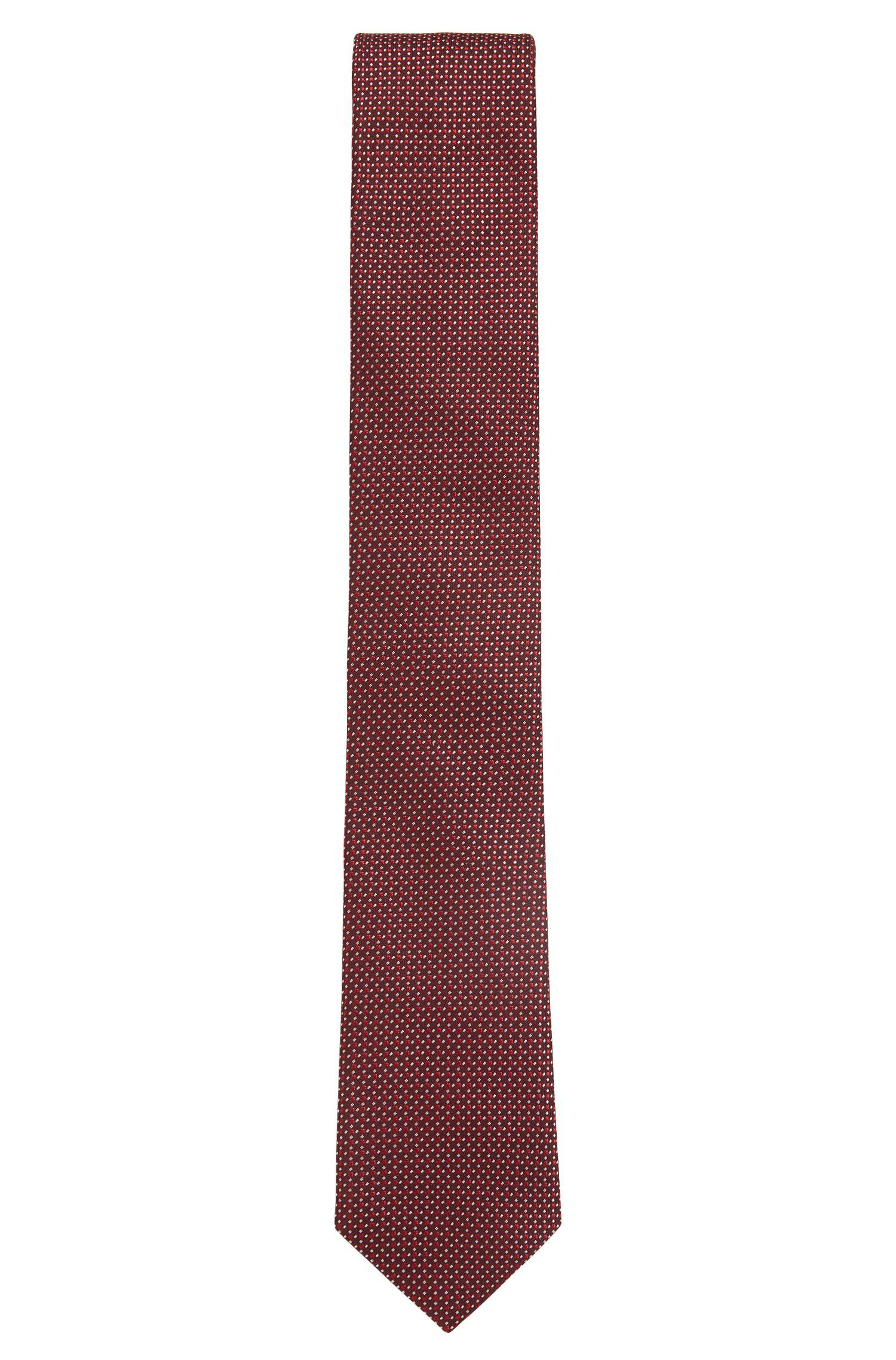 Italian-made tie in paisley silk jacquard BOSS KvEap