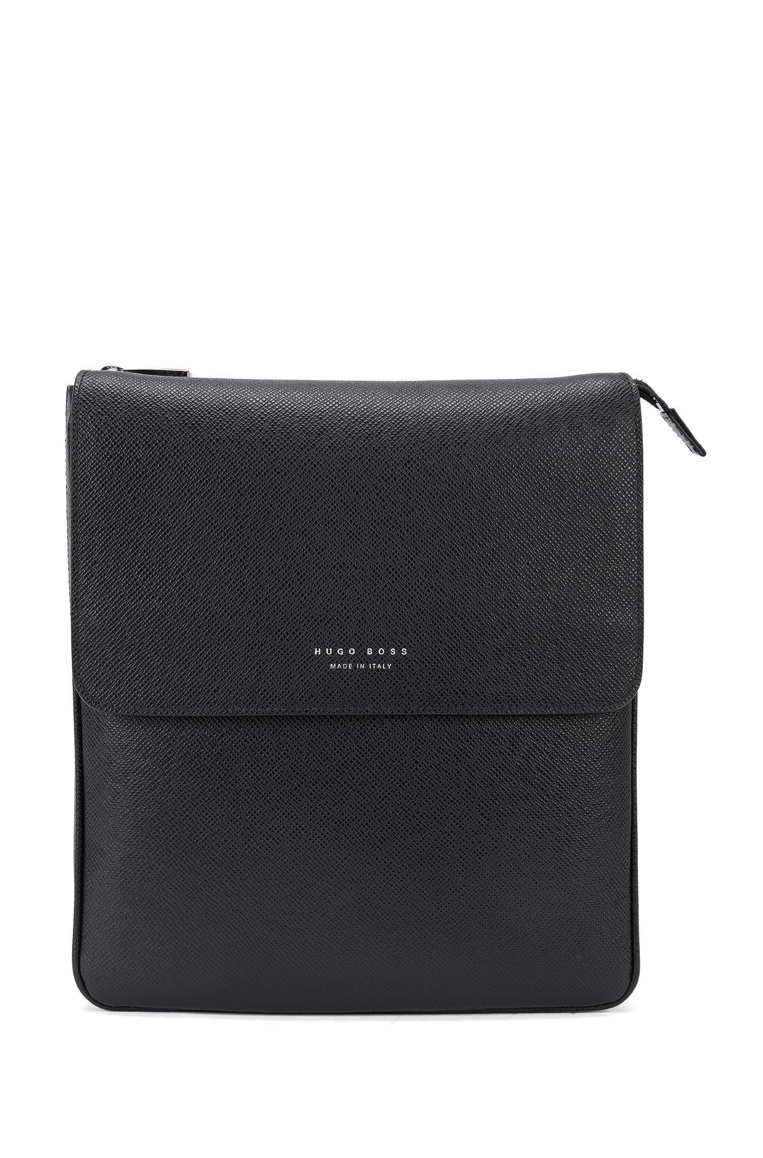 BOSS Signature Collection Reporter Bag In Palmellato Leather in ... b5373e0694461