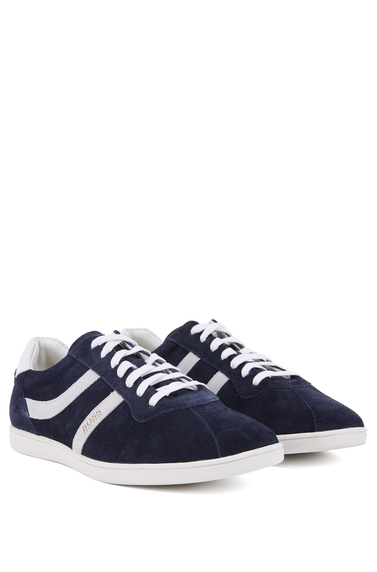Mens Rumba_Tenn_sd Trainers, Blue HUGO BOSS