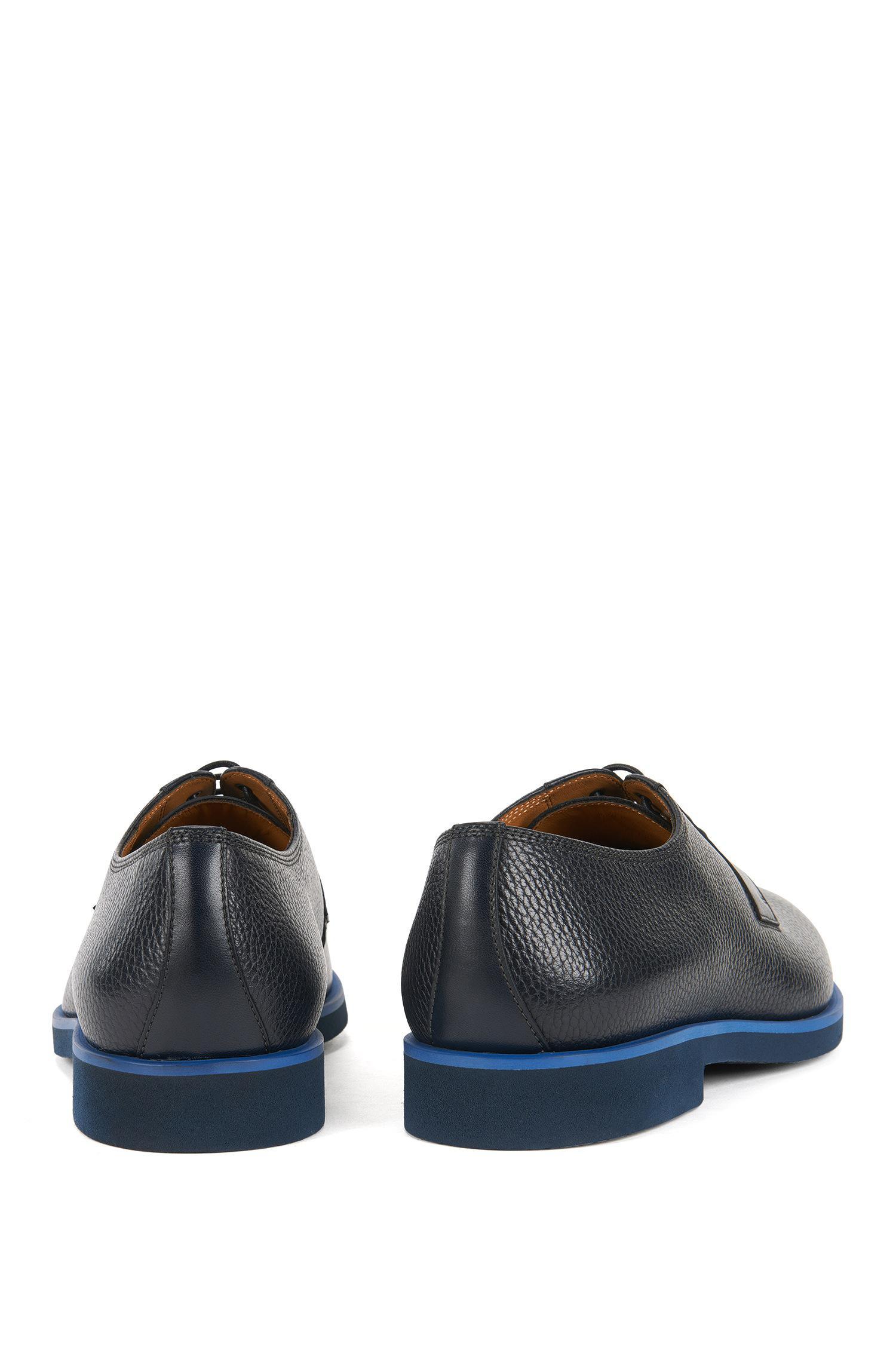 16fffe7265d Lyst - BOSS Grained Leather Derby Shoe