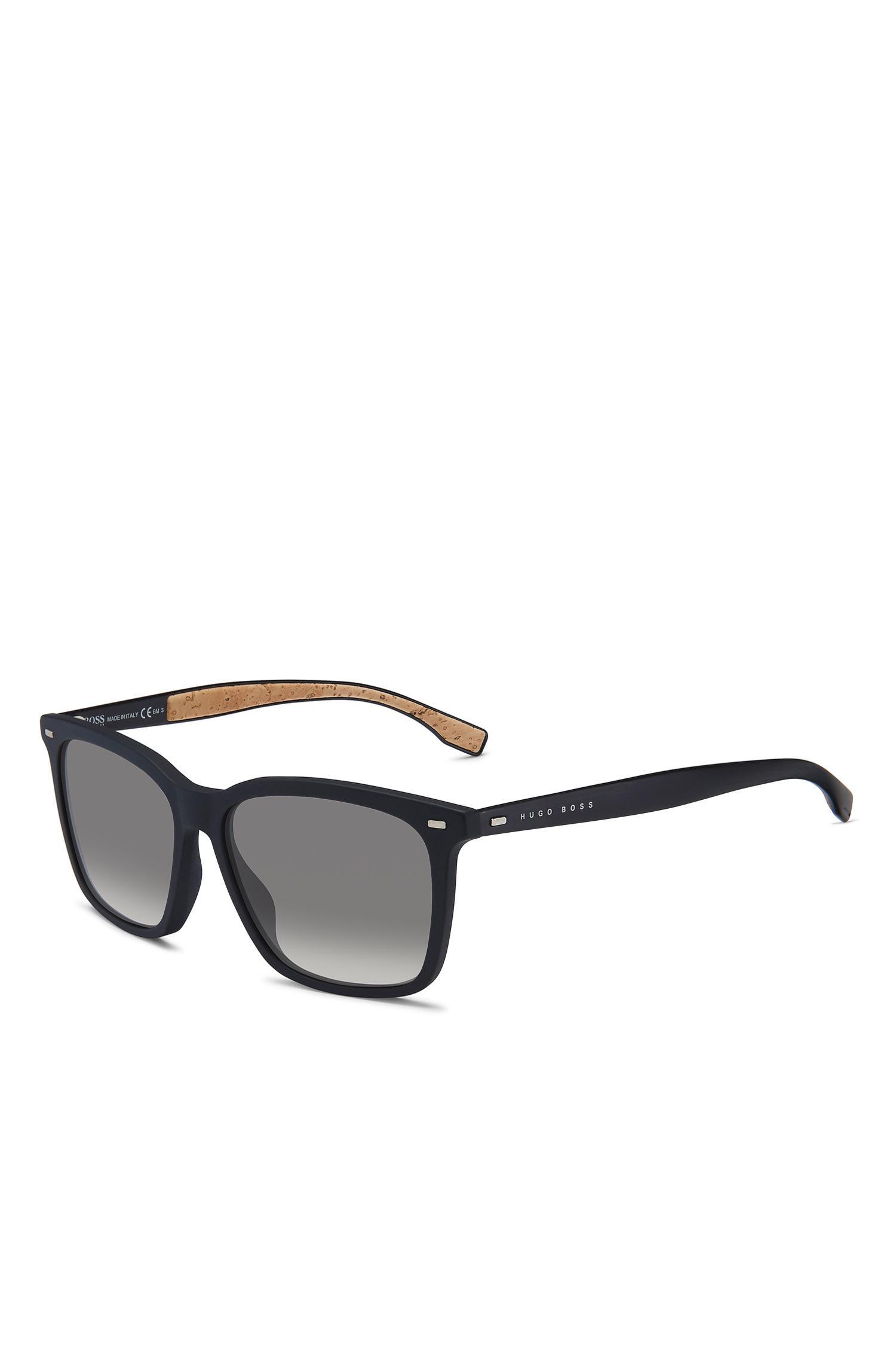 70e5383c7f Lyst - BOSS Black Acetate Rectangular Sunglasses