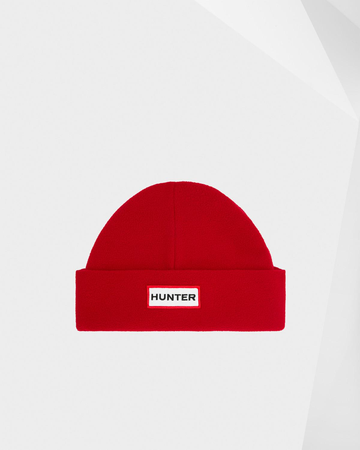 4f81e9e8e37 Lyst - HUNTER Original Fleece Hat in Red