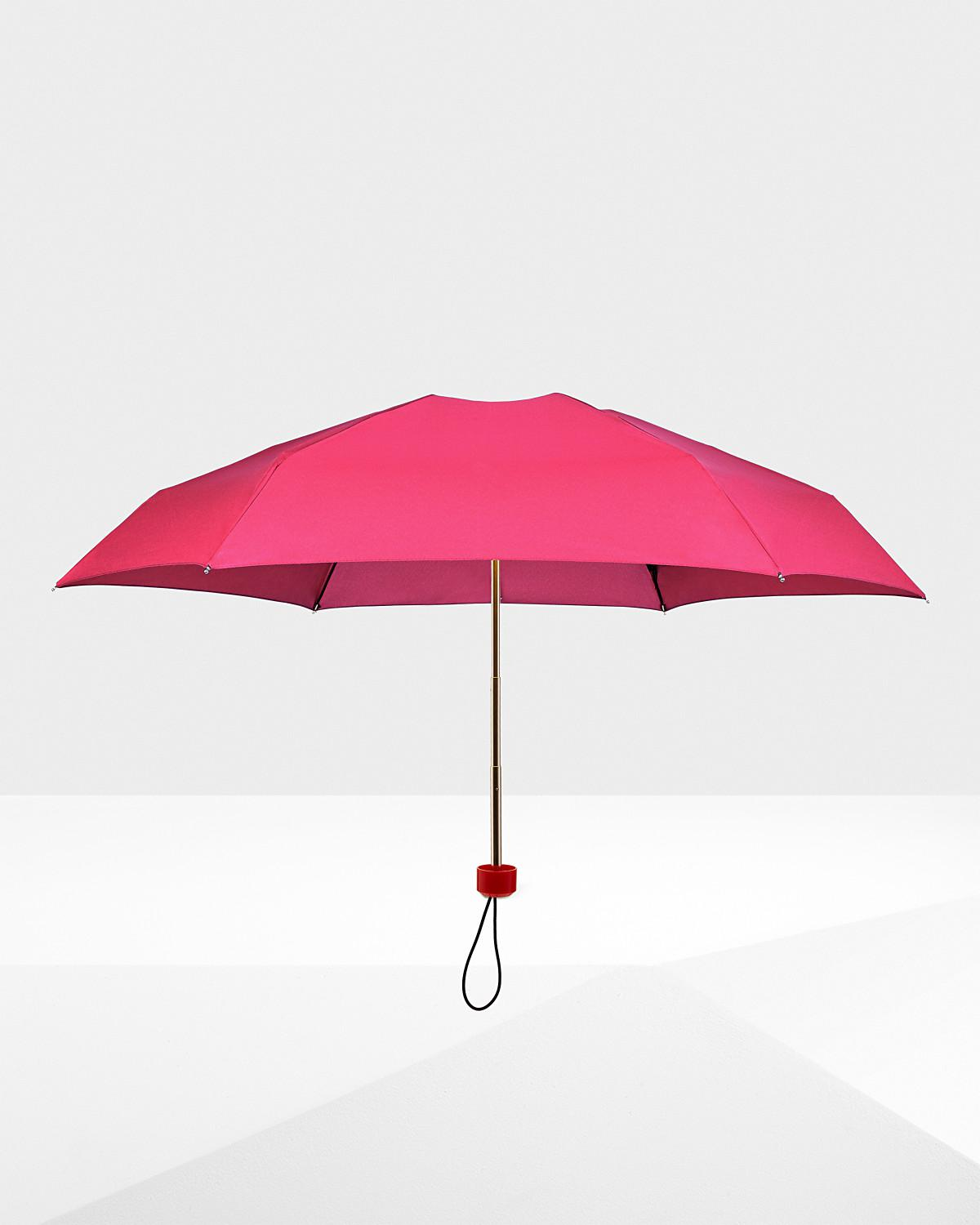 8fff04c299e0 Hunter - Pink Original Mini Compact Umbrella - Lyst. View fullscreen