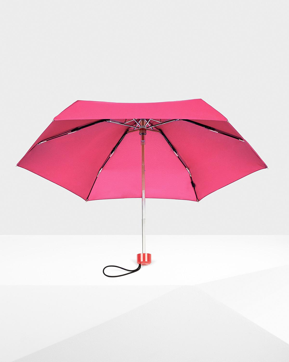 cf56471f135f HUNTER Original Mini Compact Umbrella in Pink - Lyst