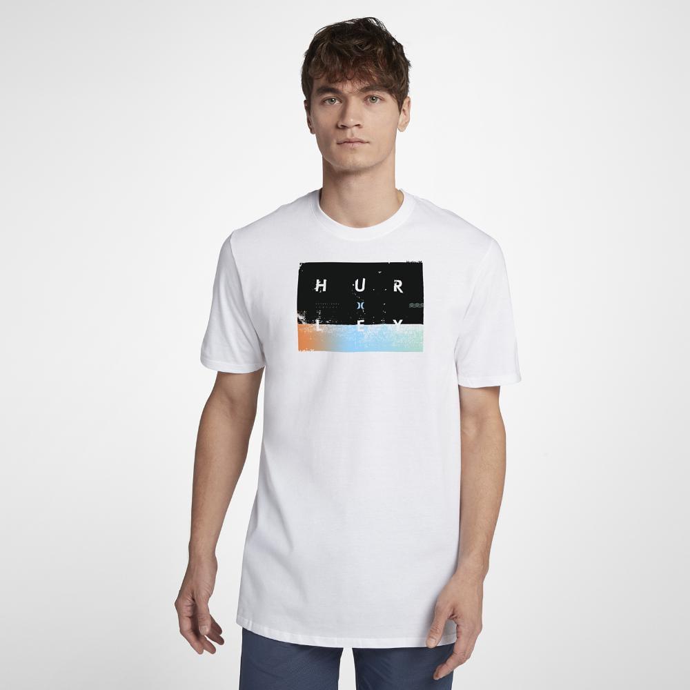 Lyst - Hurley Premium Breaking Sets T-shirt in White for Men d0883bd156