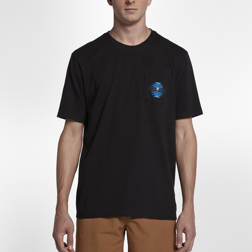 43197849ab Lyst - Hurley Pendleton Chief Pocket T-shirt in Black for Men
