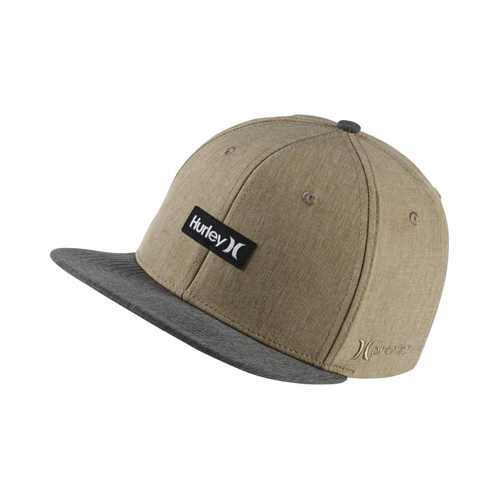 newest 5aa22 768ef ... hot lyst hurley phantom one and only adjustable hat khaki in natural  7e508 e216e