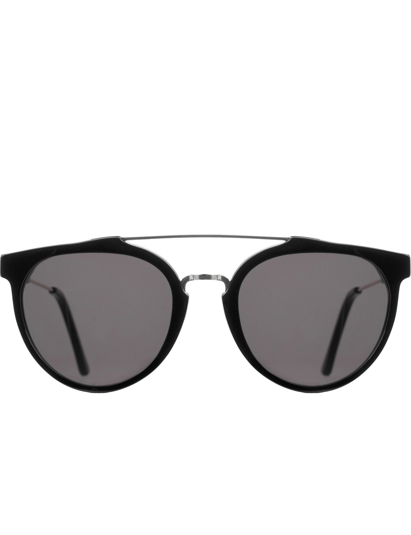 Dc Hbx Retrosuperfuture Giaguaro Black Sunglasses In Black Lyst