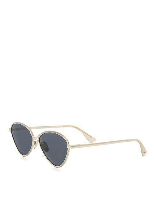 b3ec6ed9cb Lyst - Le Specs Bazaar Cat-eye Sunglasses in Metallic