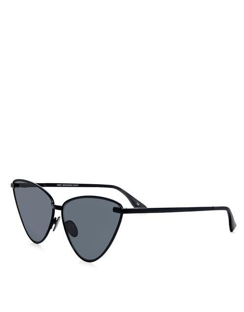 ebf13a92e68 Lyst - Le Specs Nero Cat-eye Sunglasses