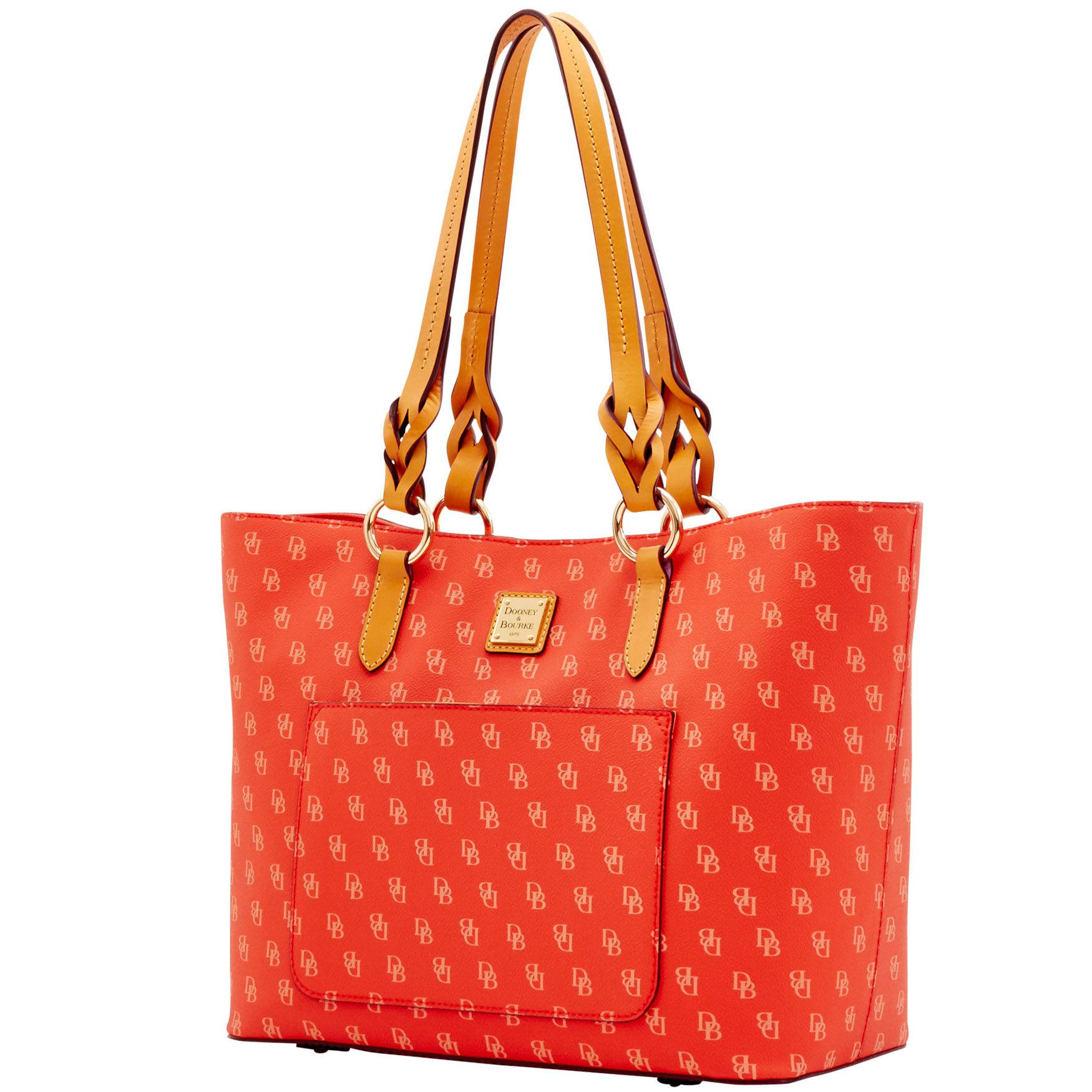 Dooney   Bourke - Red Blakely Tammy Tote - Lyst. View fullscreen 7bc973e91d1b3