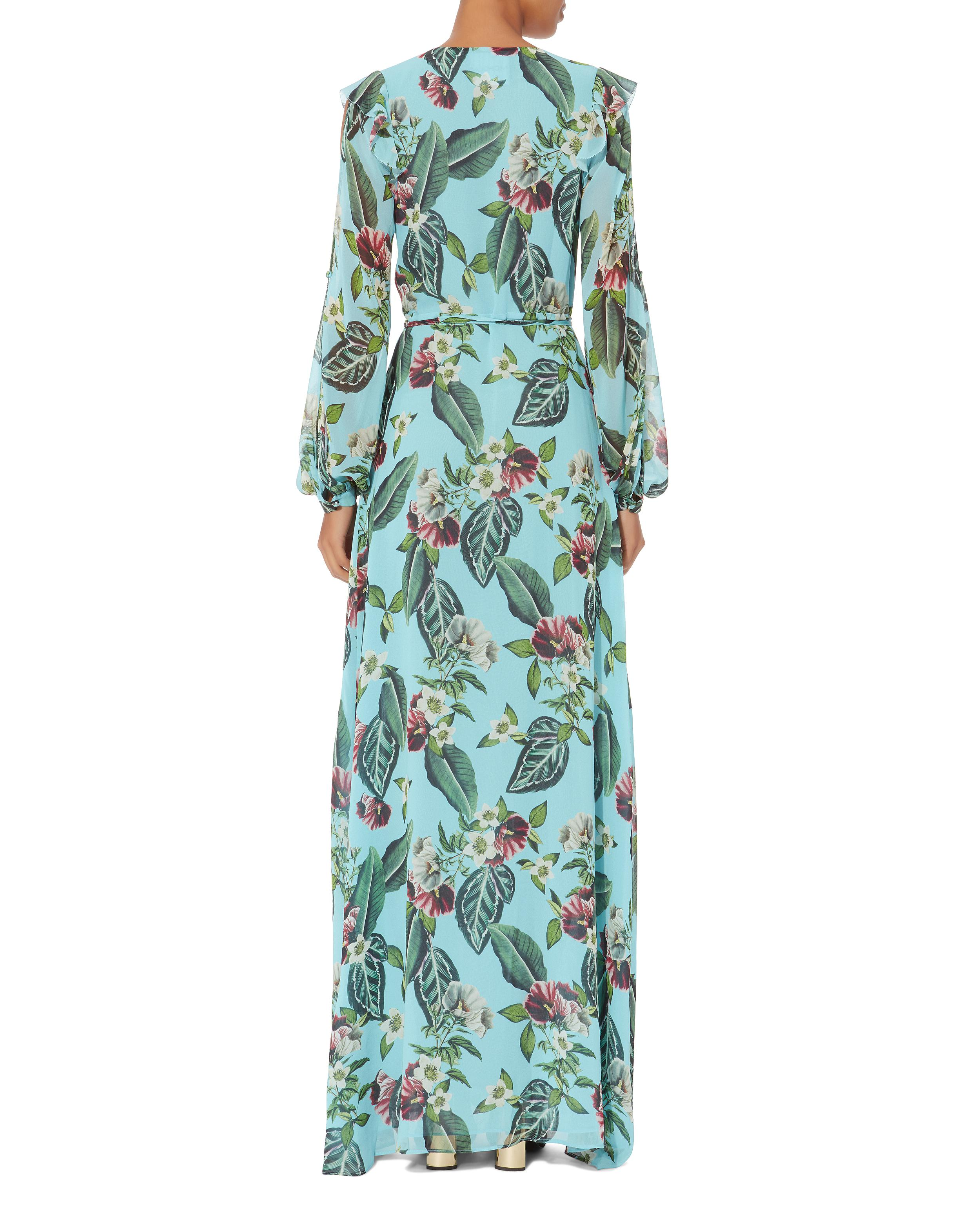 cda38db993 Nicholas Mayflower Maxi Dress in Blue - Lyst