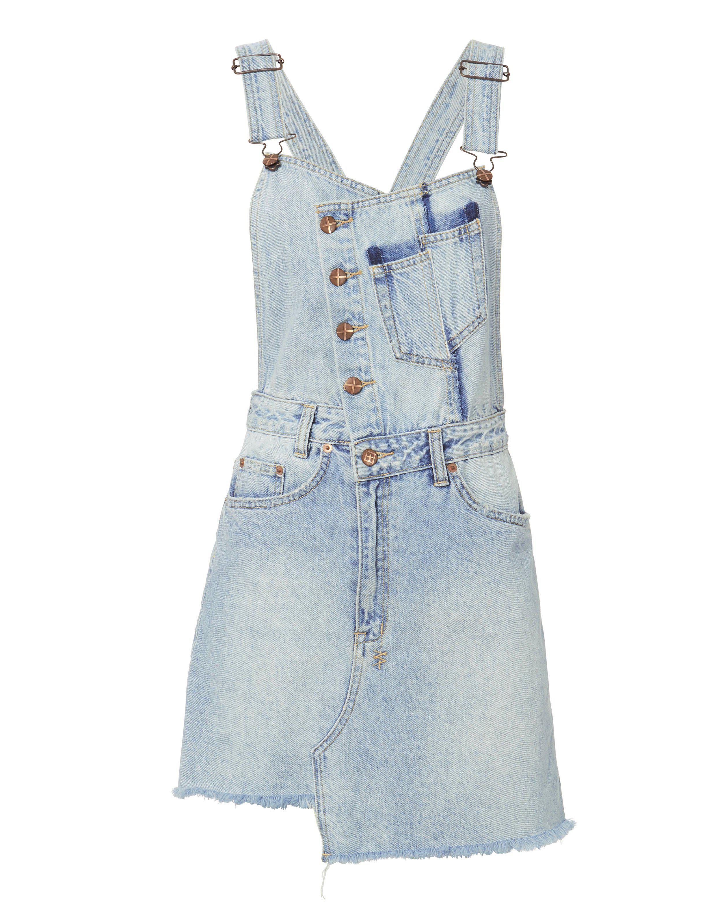 8d10d5d1975 Lyst - Ksubi Hi Pini Sliced Dress in Blue