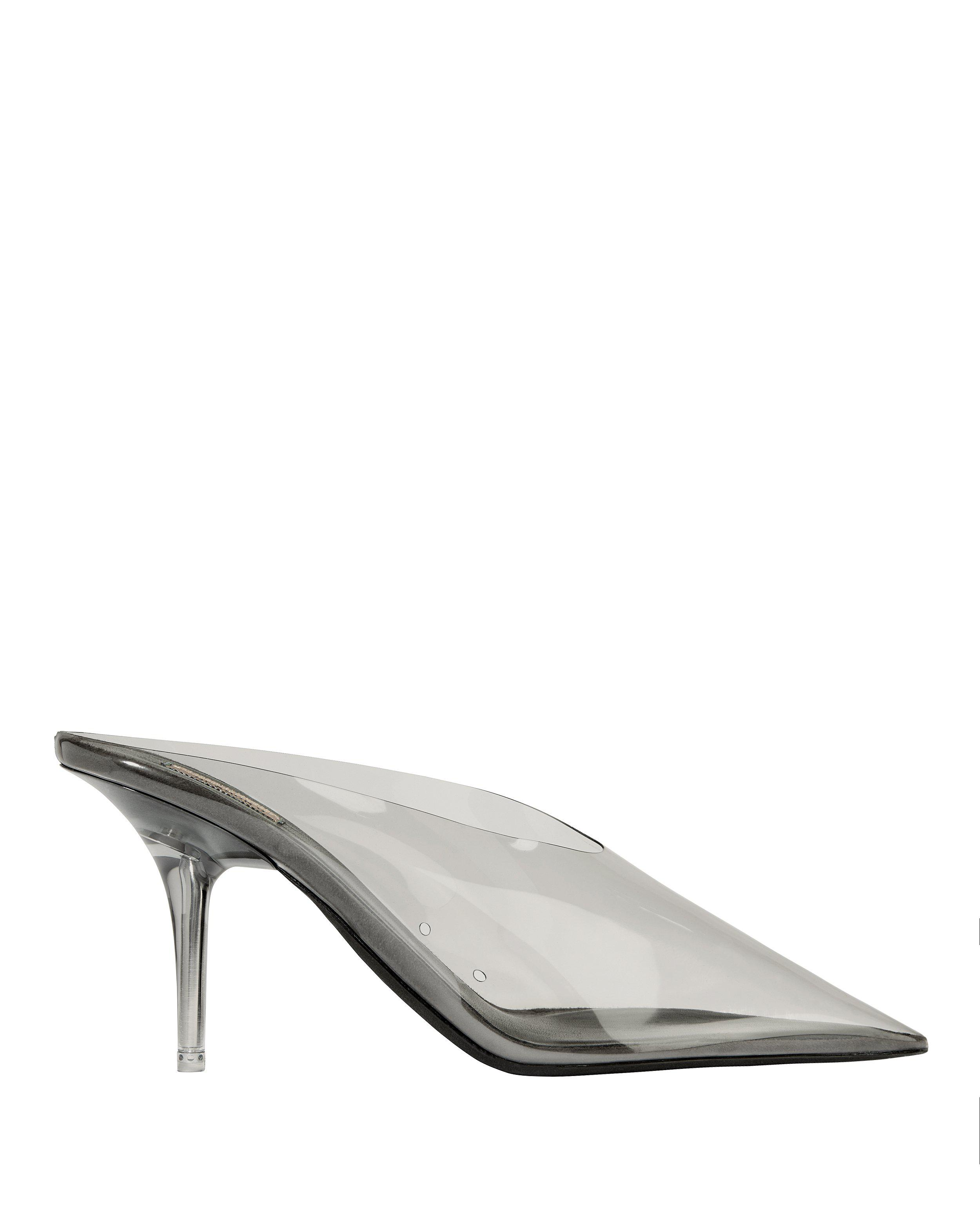 d739c53780 Yeezy Transparent Mules in Gray - Lyst