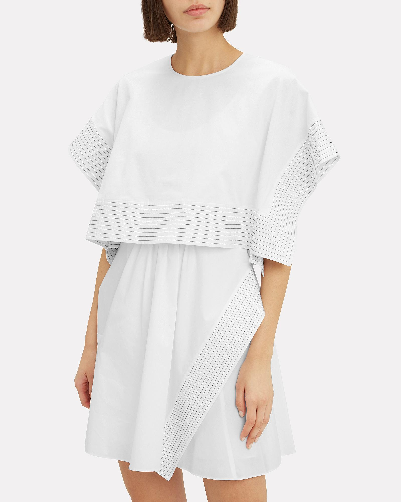 eb71ee61db1bf8 3.1 Phillip Lim - White Boxy Crop Top Mini Dress - Lyst. View fullscreen