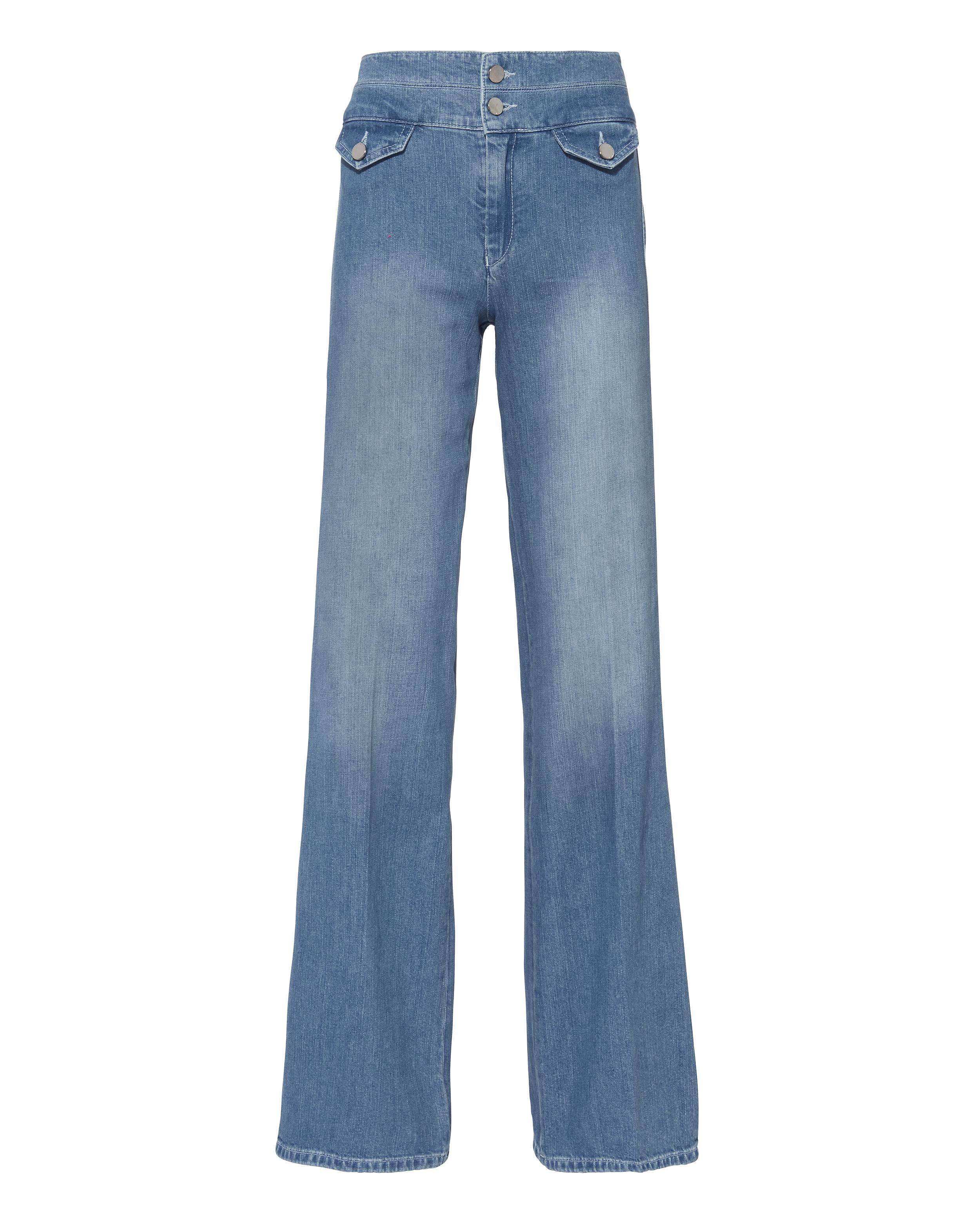 Victoria, Victoria Beckham Woman Low-rise Flared Jeans Dark Denim Size 25 Victoria Beckham