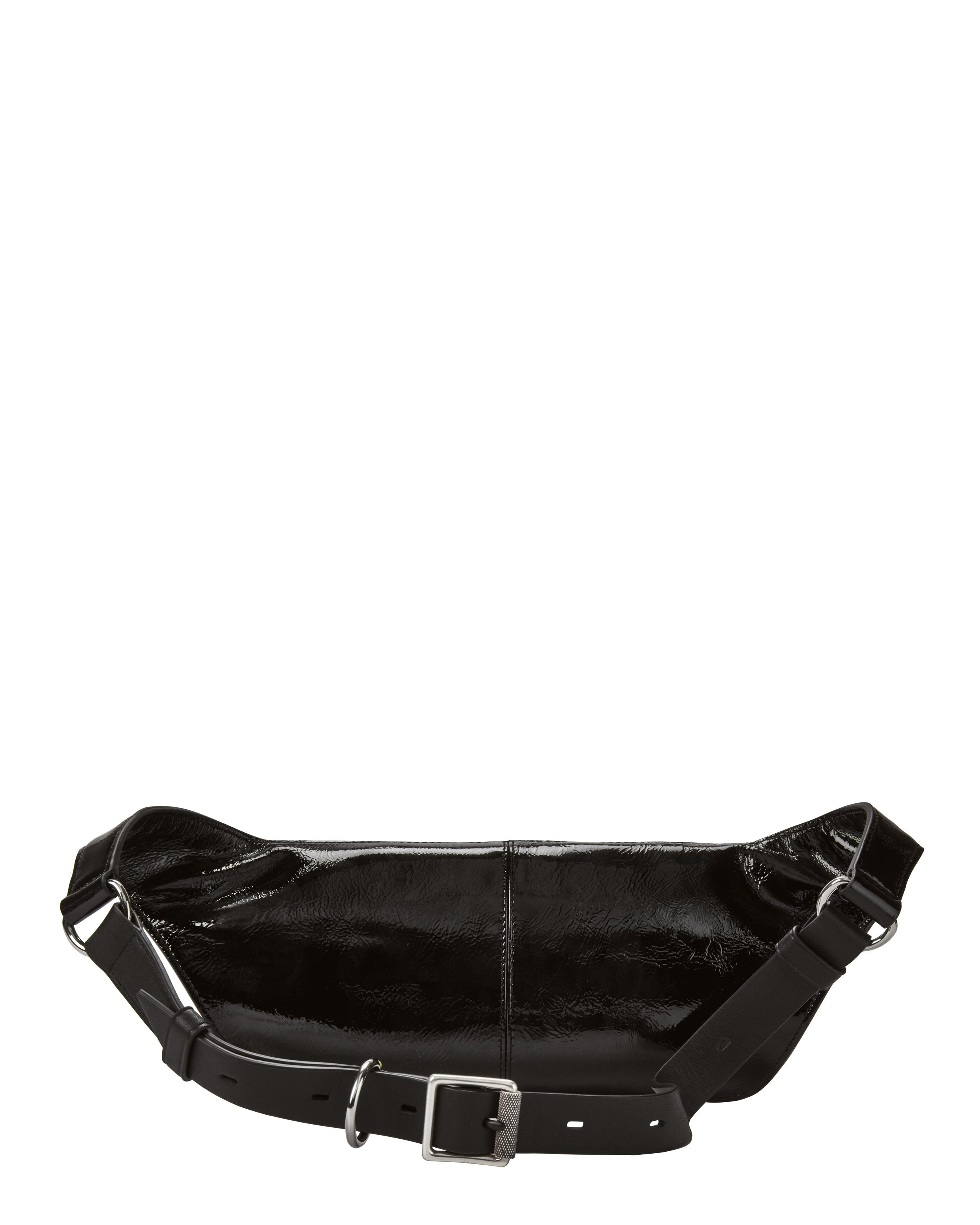 5878b254f Rag & Bone Small Patent Leather Fanny Pack in Black - Lyst