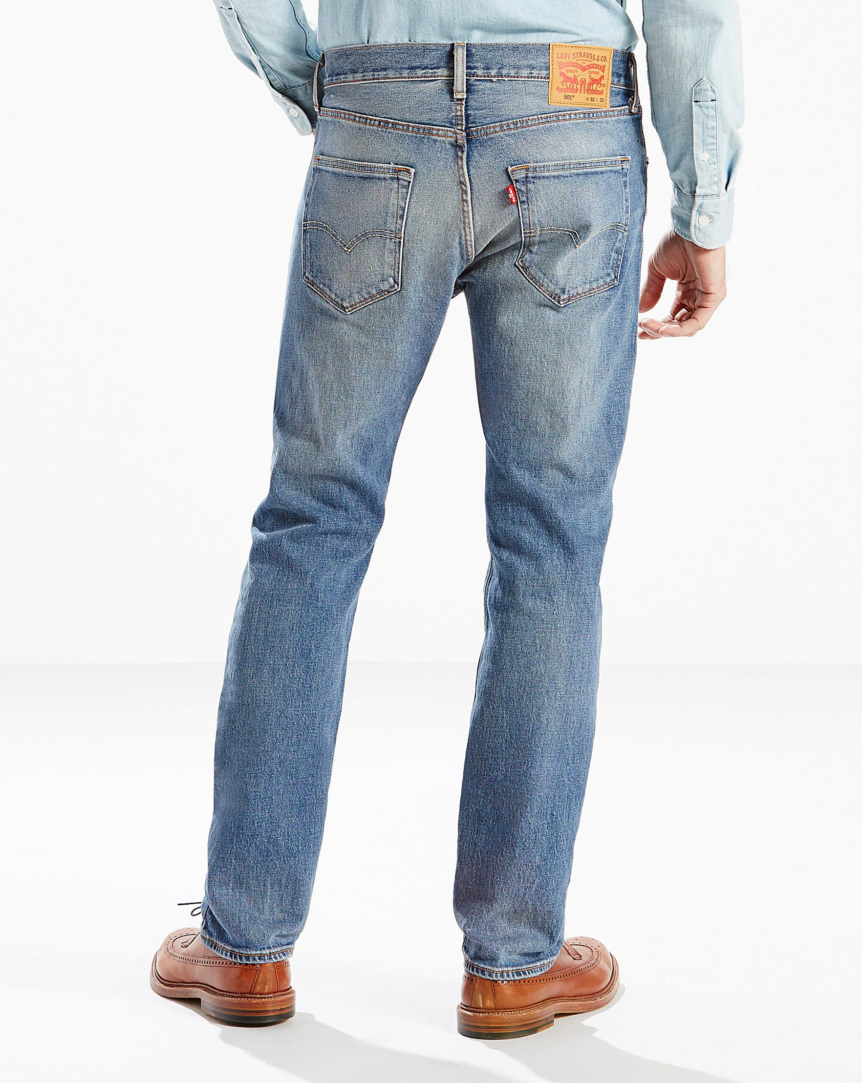 08407efe Levi's 501 The Ben Jean 32 In in Blue for Men - Lyst